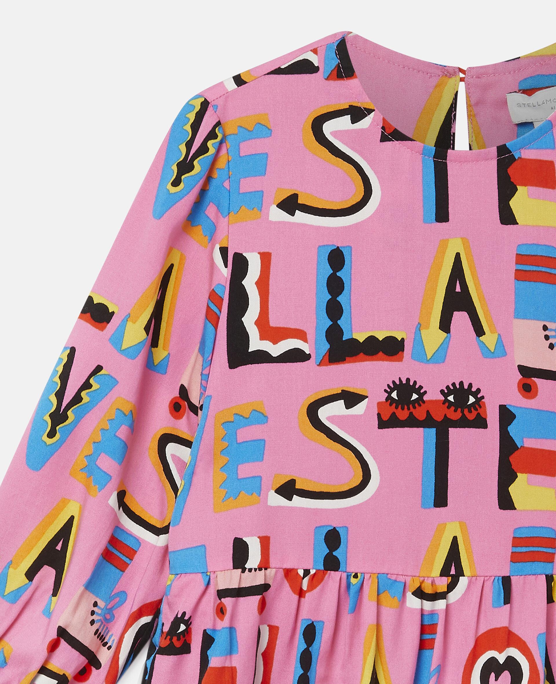 Robe en sergé Stella Loves-Rose-large image number 2