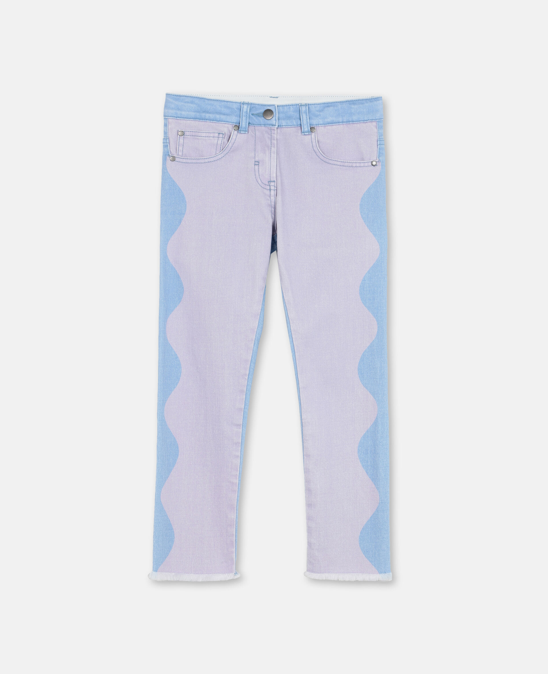 Swiggle Mom Denim Pants-Pink-large image number 0