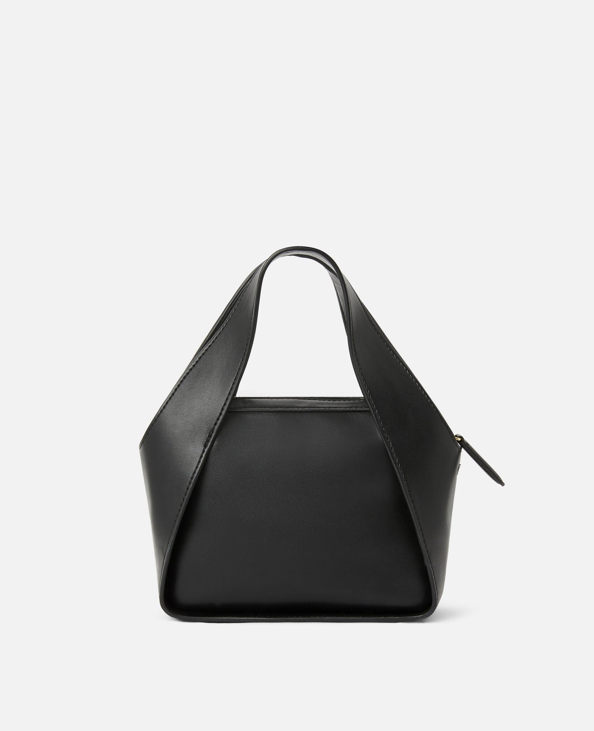 Mini Stella Logo Crossbody Bag -Black-large image number 2