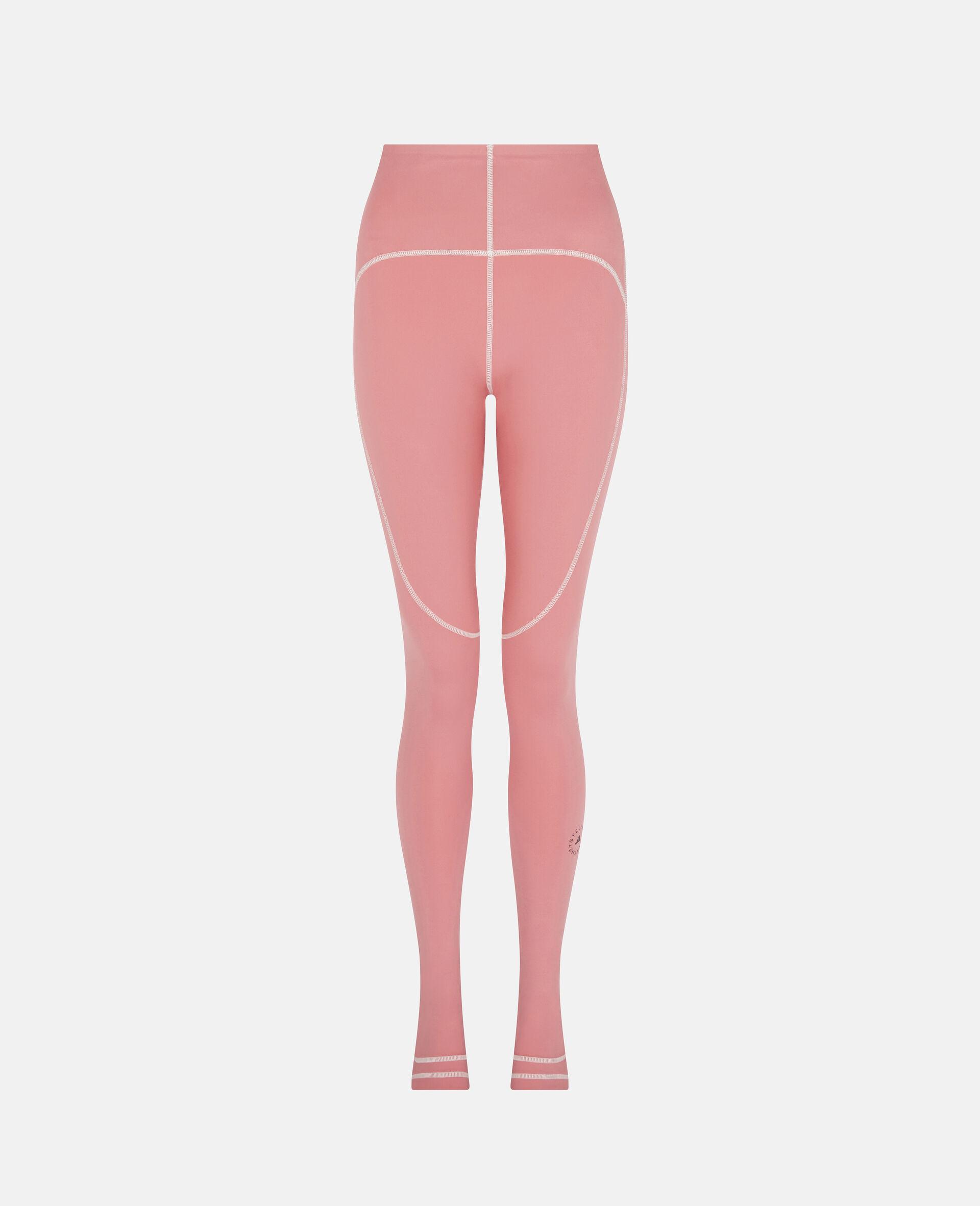 Hazy Rose Yoga High Waist Tights-Pink-large image number 0