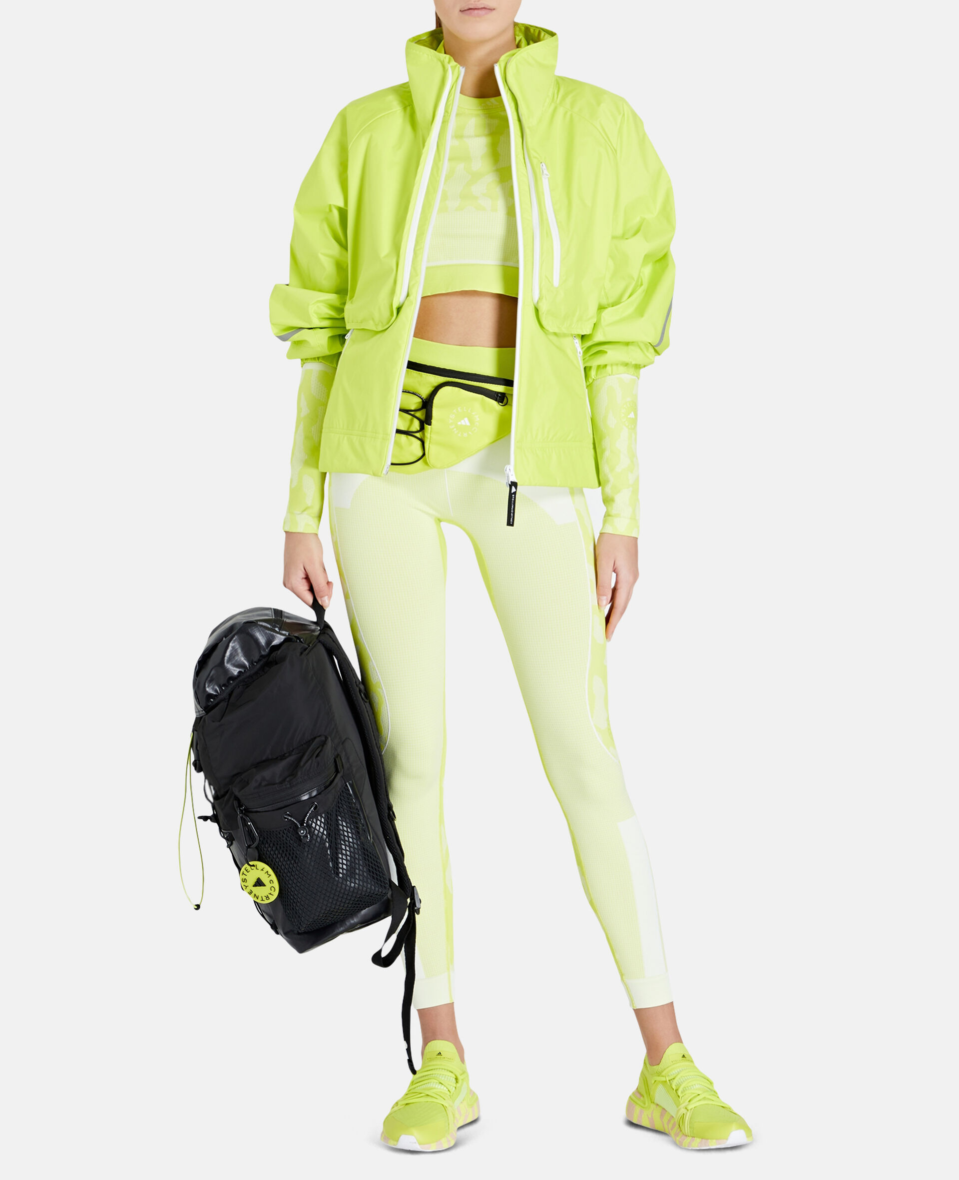 TruePace 2-in-1 Running Jacket-Yellow-large image number 1