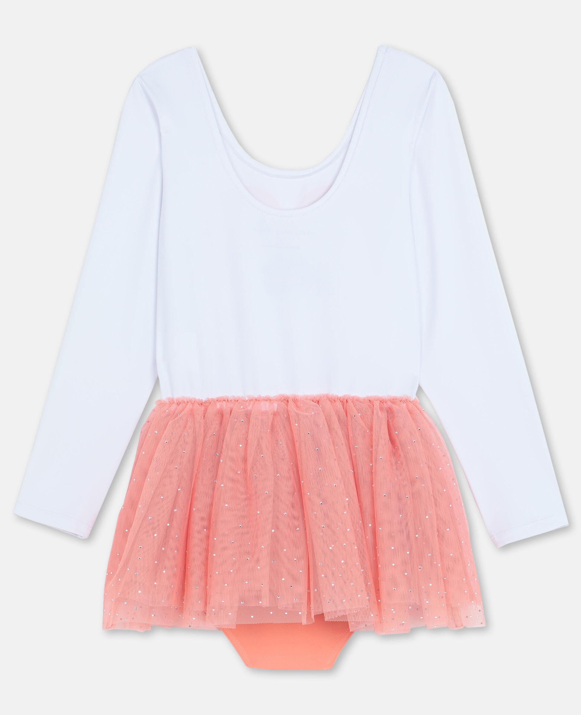 Flamingo Dress-White-large image number 3