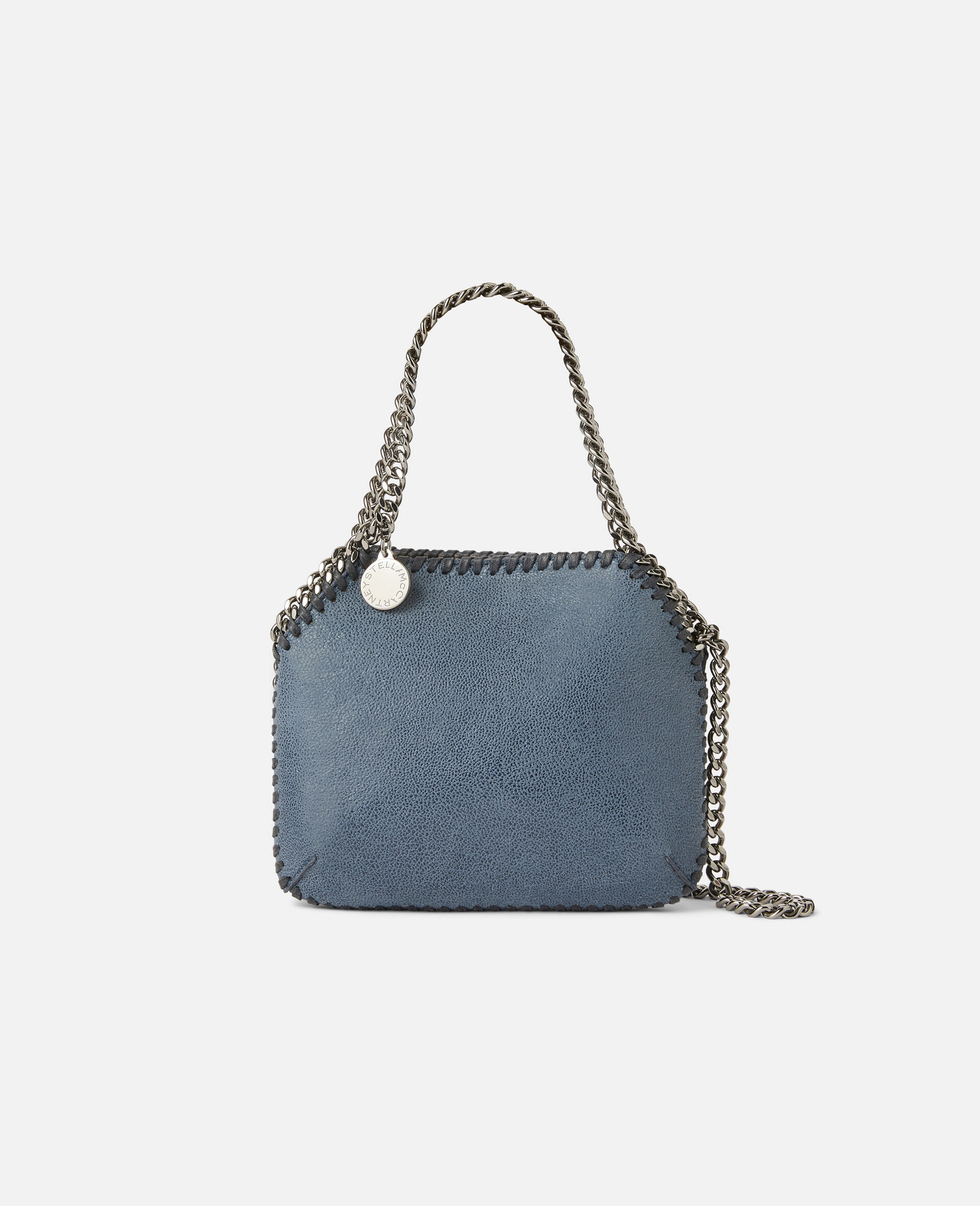 Mini-Schultertasche Falabella-Blau-large image number 0