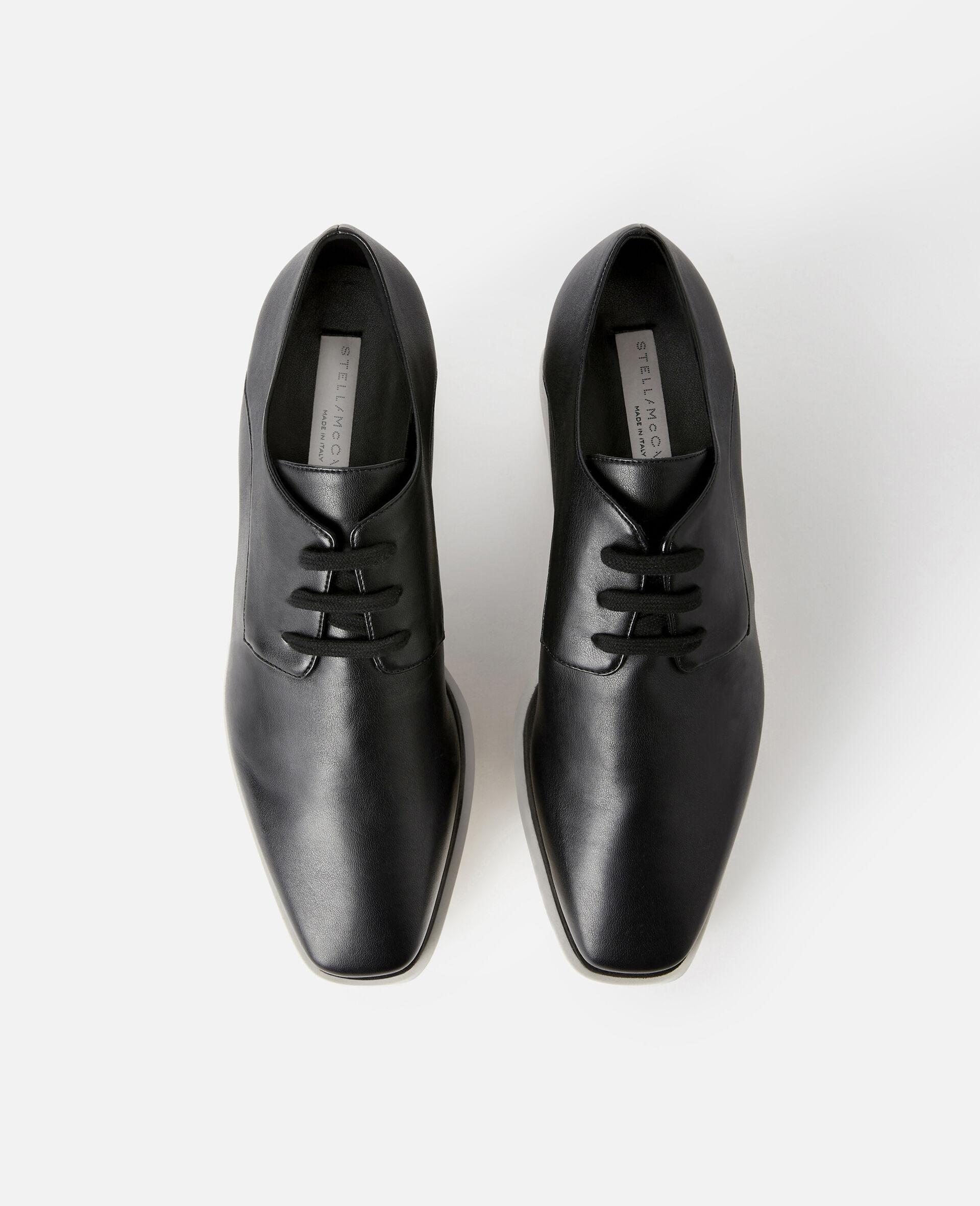 Chaussures compensées Elyse -Noir-large image number 3