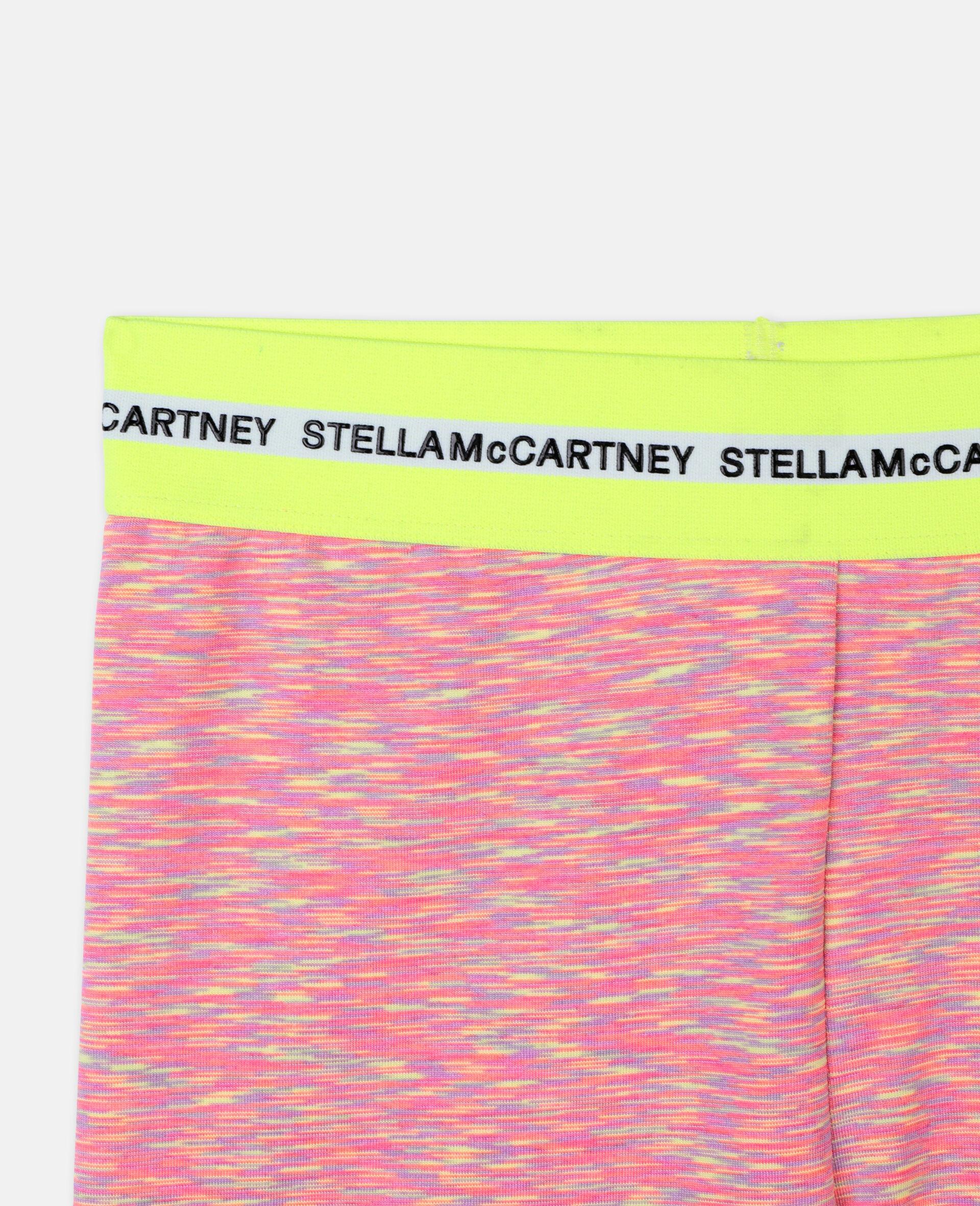 Space Dye Active Short Leggings -Multicolour-large image number 2