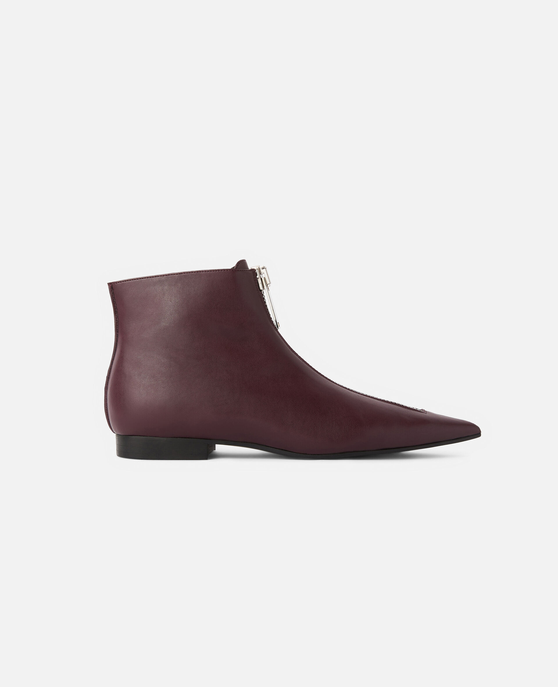 Zipit Ankle Boots-Red-large image number 0