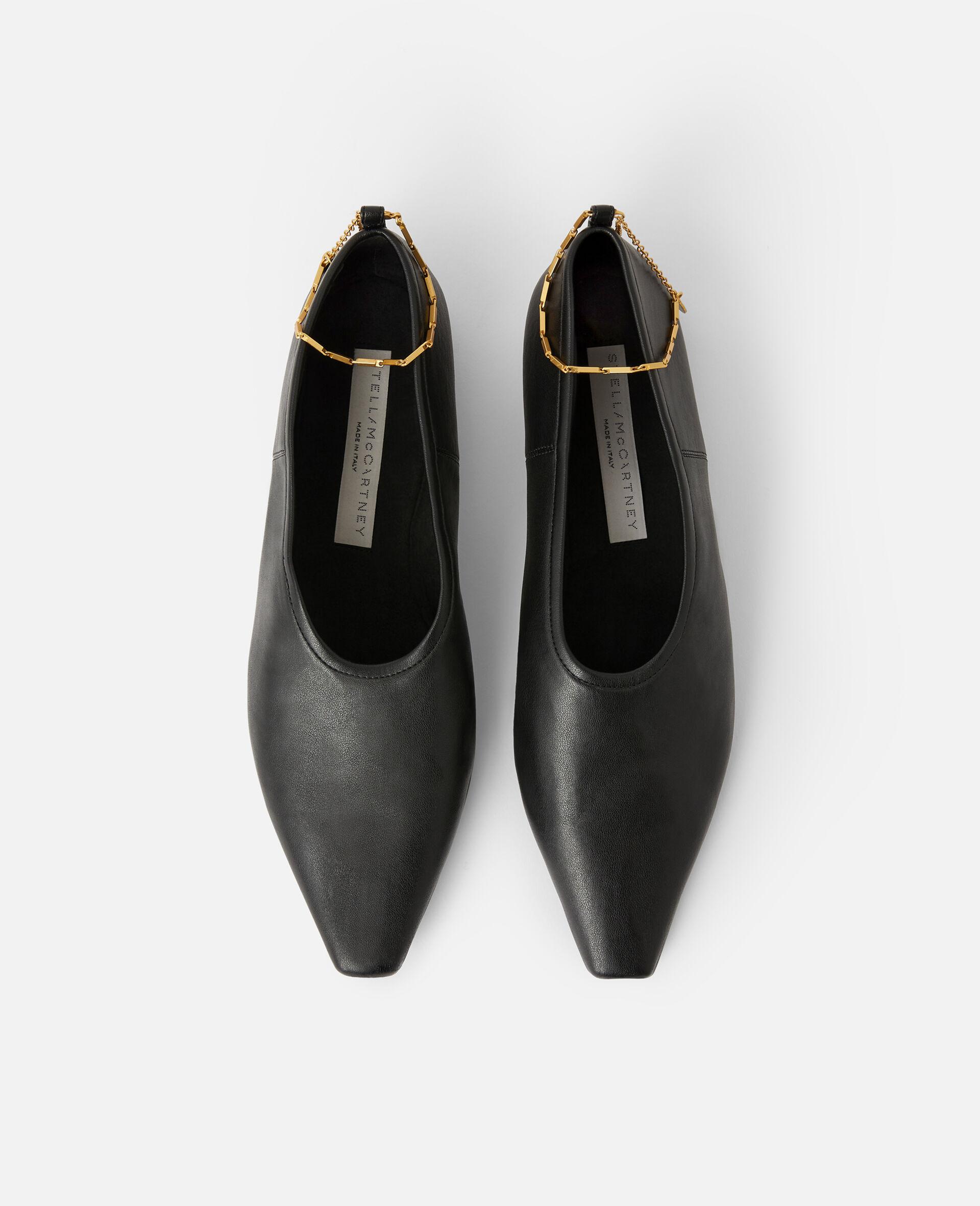 Ballet Flats-Black-large image number 3