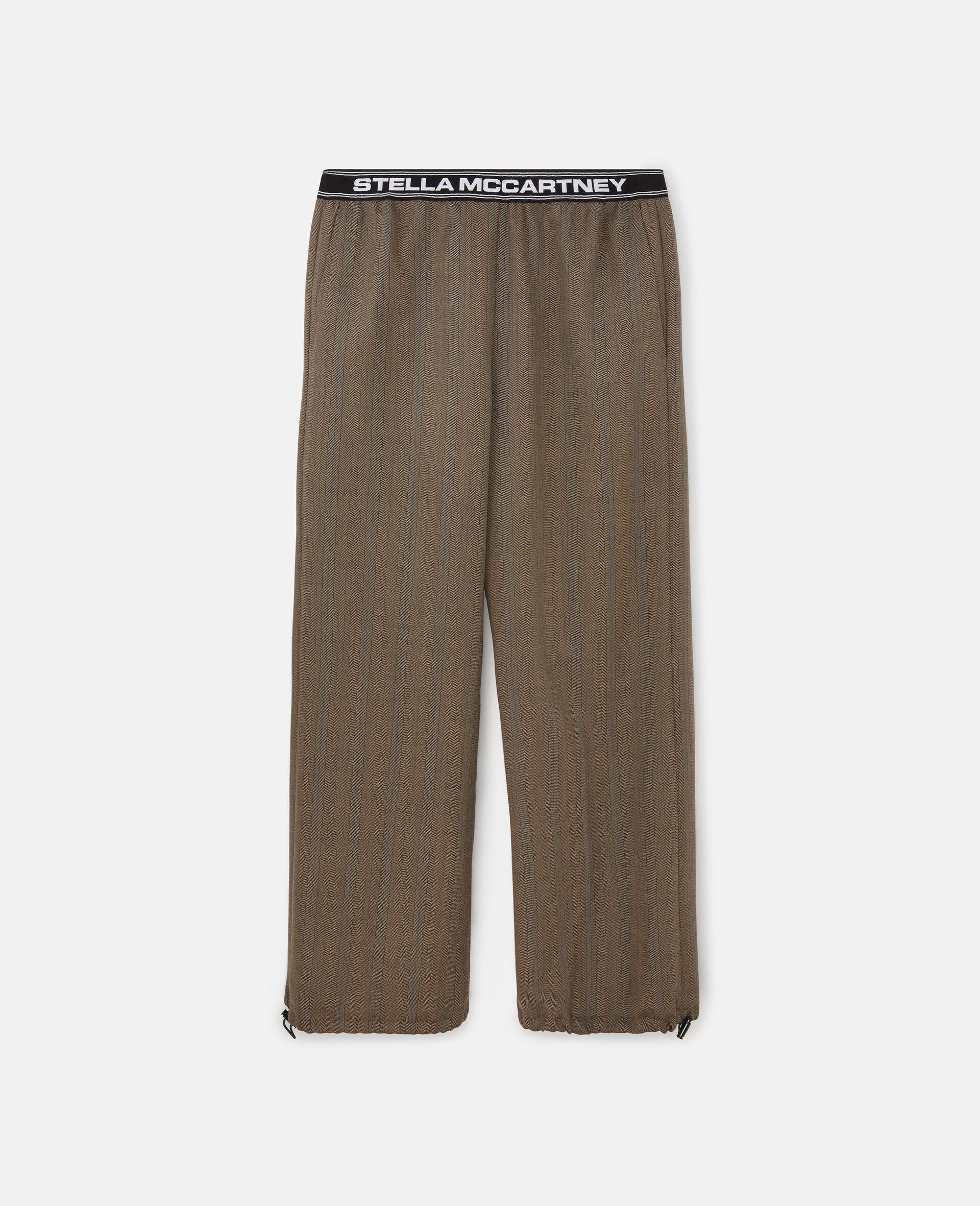 Taillierte Hosen mit Stella Logo -Bunt-large image number 0