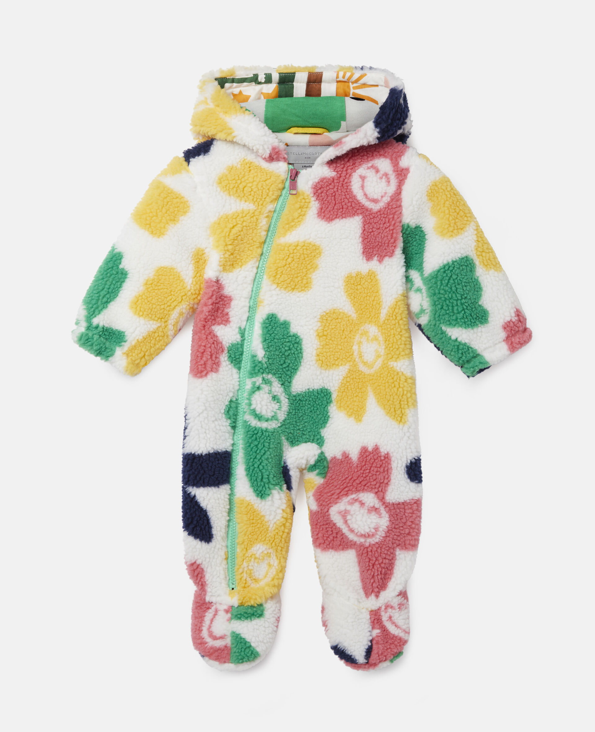 Happy Flowers Teddy All-In-One-Multicolour-large image number 0