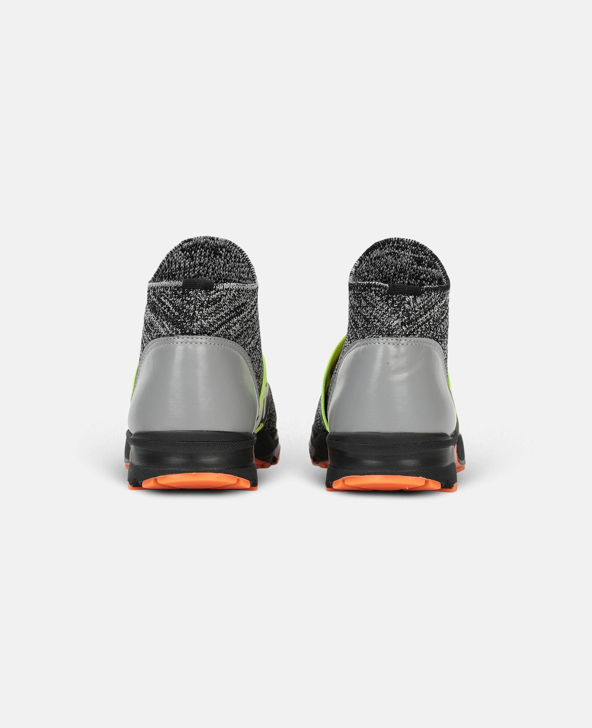 Logo Tape Sport Sneakers -Grey-large image number 2