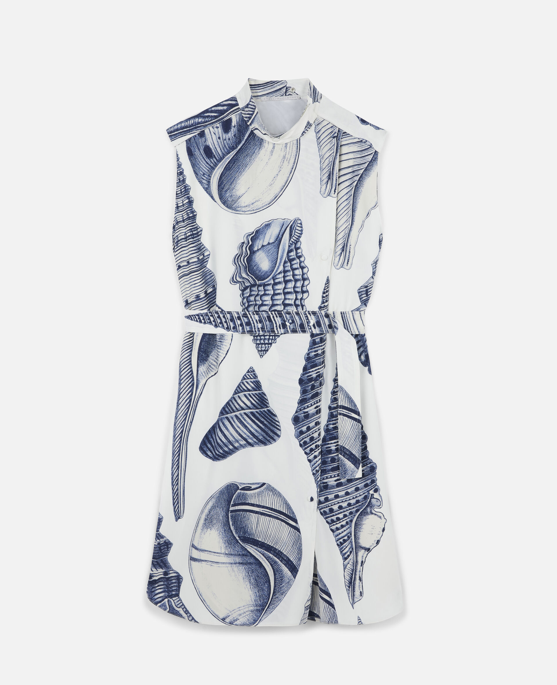 Andrea Silk Dress-White-large image number 0