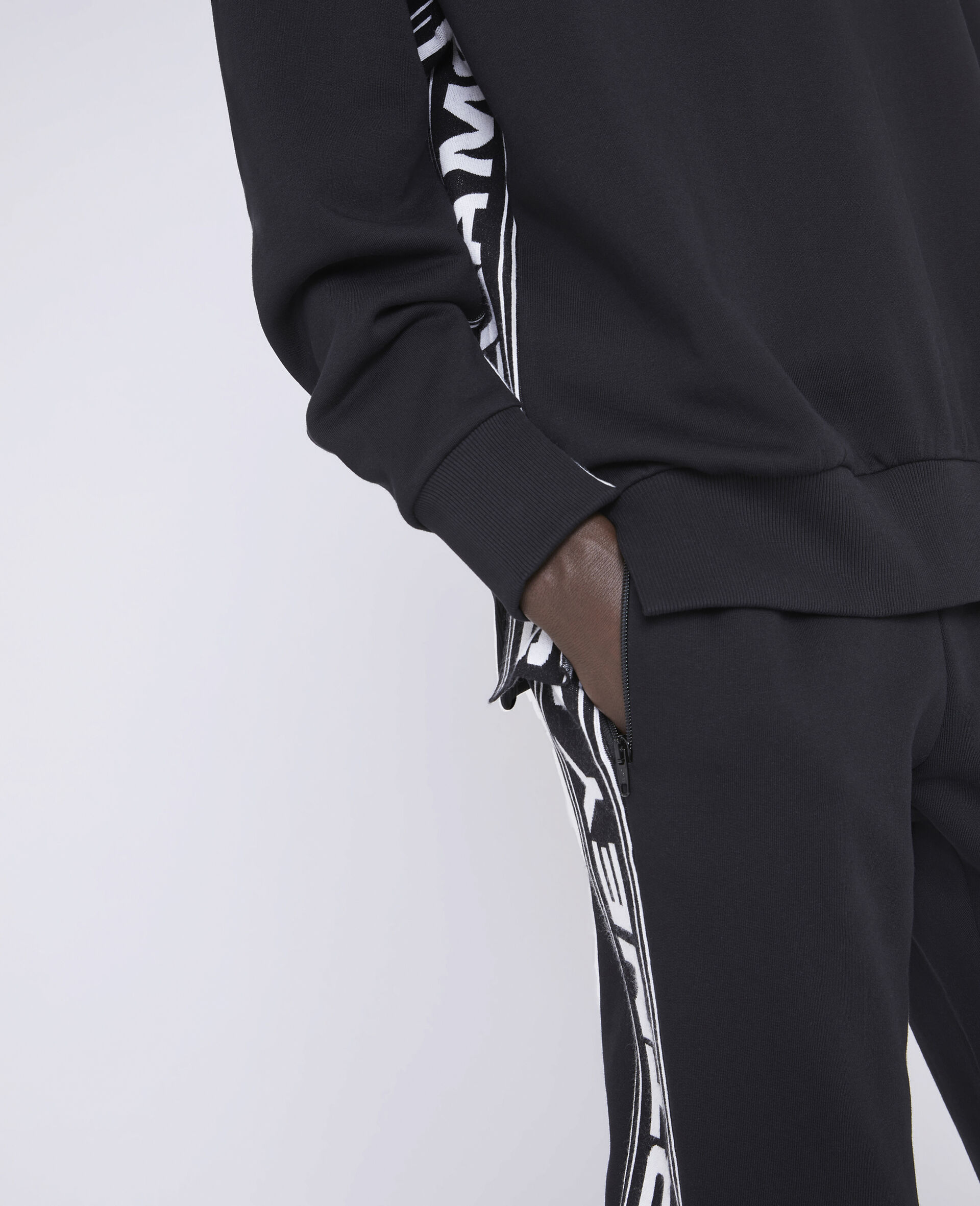 23 OBS Knit Trousers-Black-large image number 3