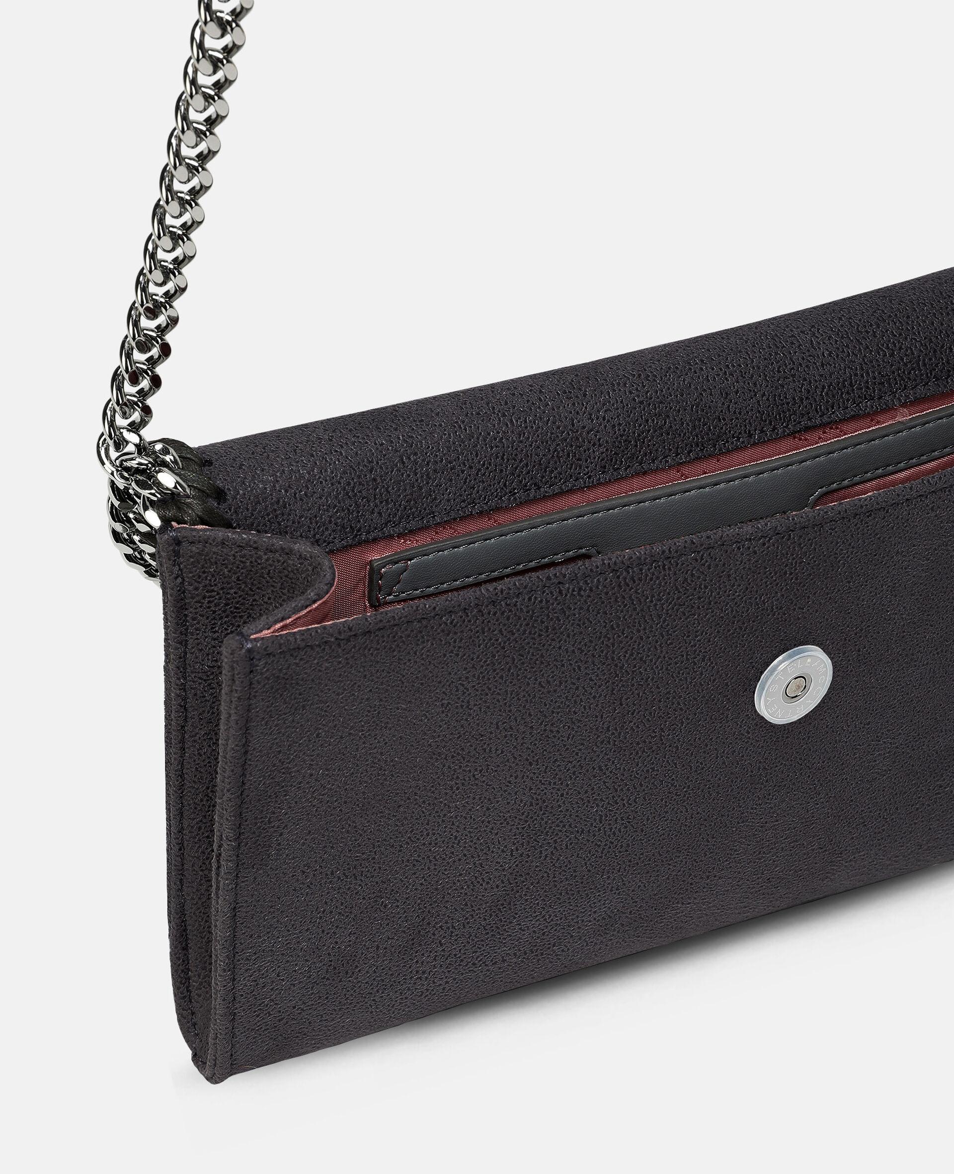 Mini sac porté épaule Falabella-Gris-large image number 3
