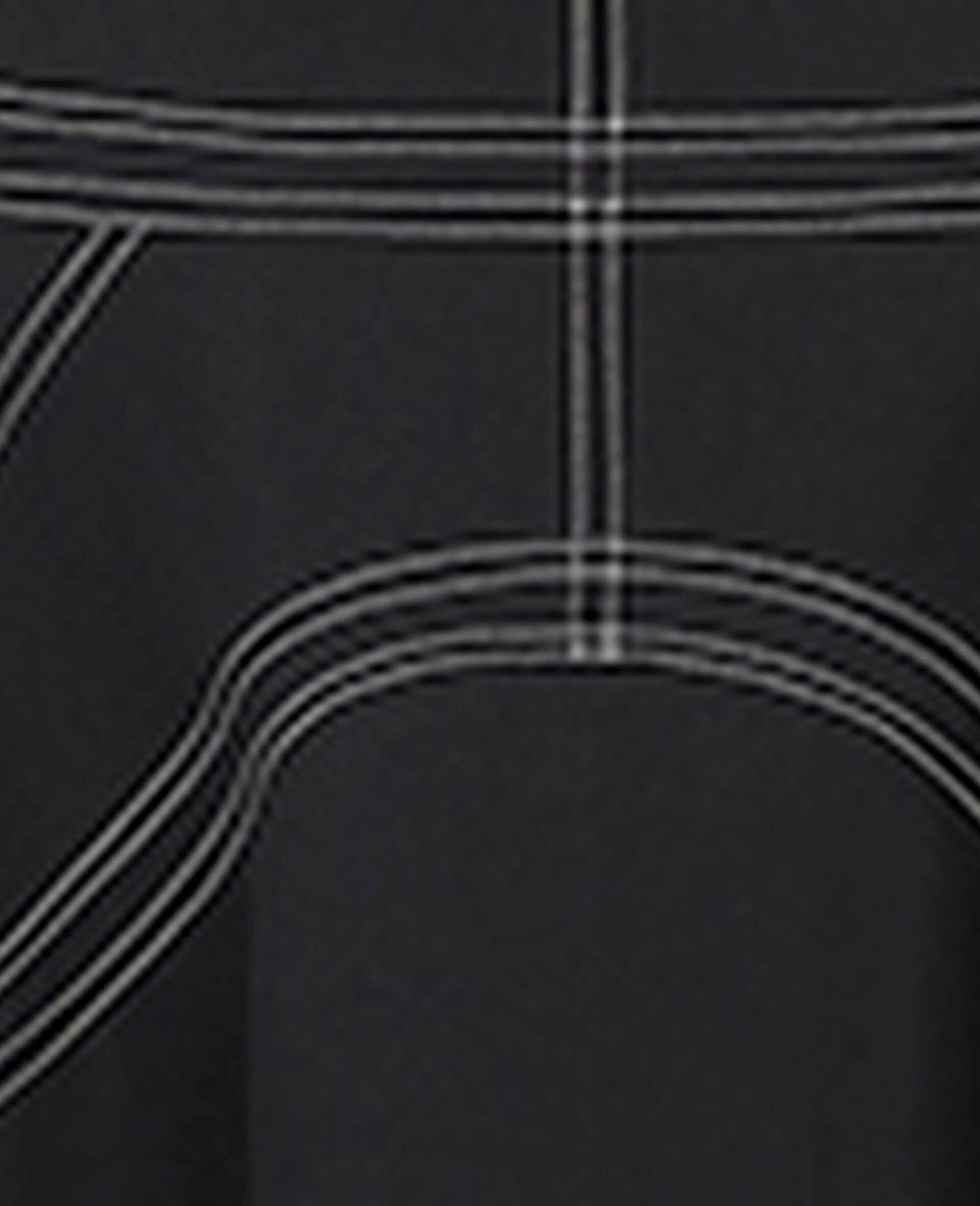 Amber Midi Dress-Black-large image number 4