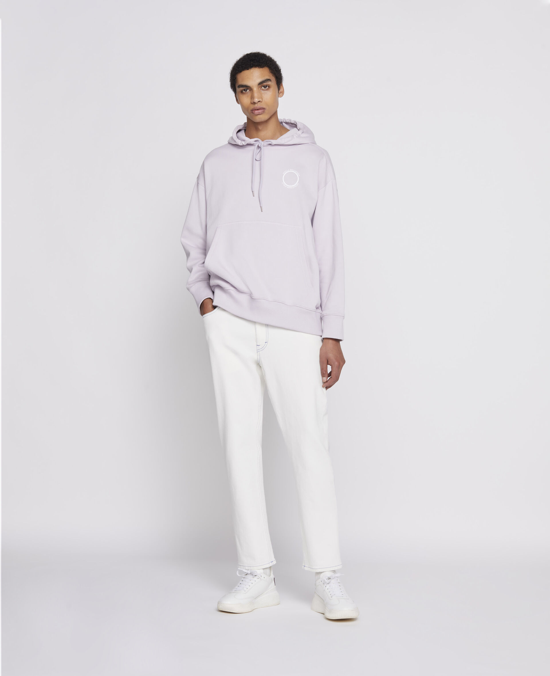 Pantaloni in Denim 23 OBS  -Bianco-large image number 1