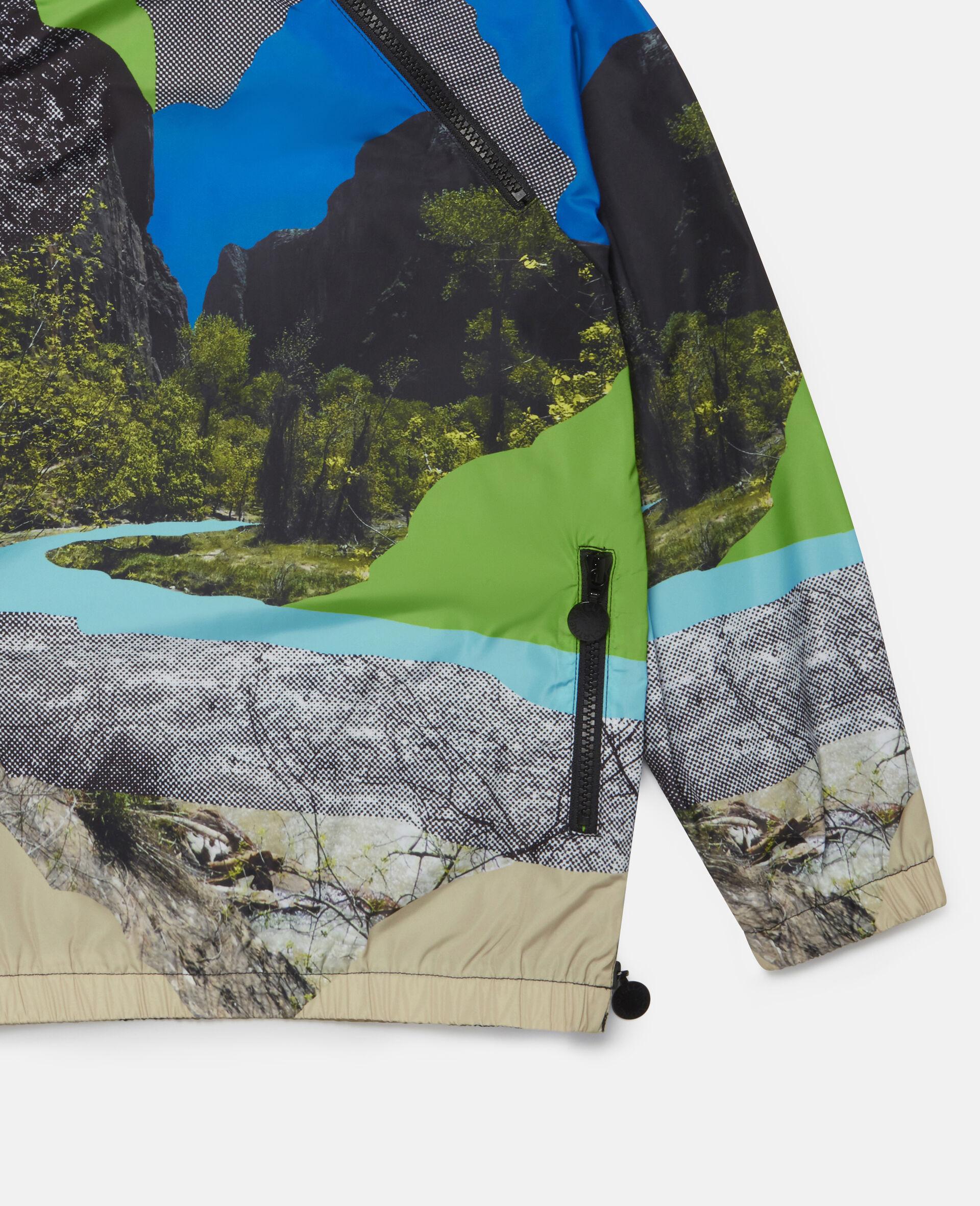 Landscape Hooded Jacket-Multicolour-large image number 2