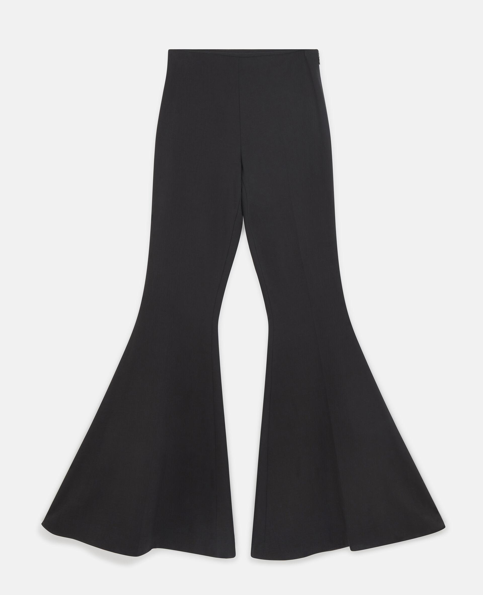 Mona Flared Trousers-Black-large image number 0