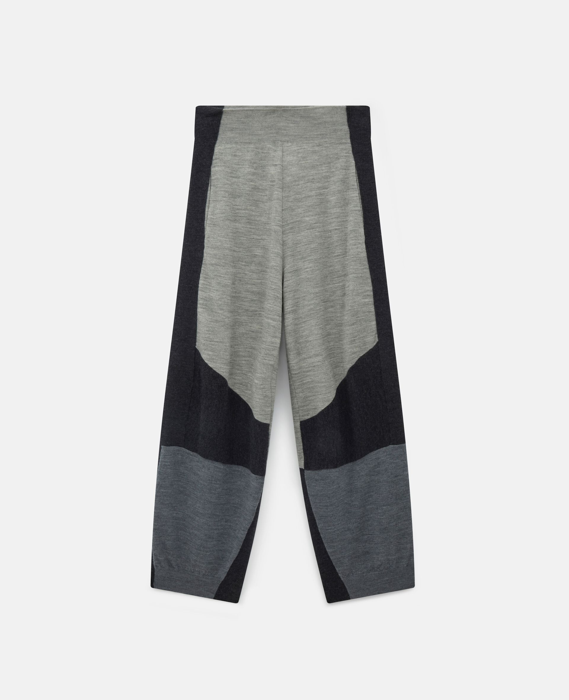 Knit Trousers-Grey-large image number 0