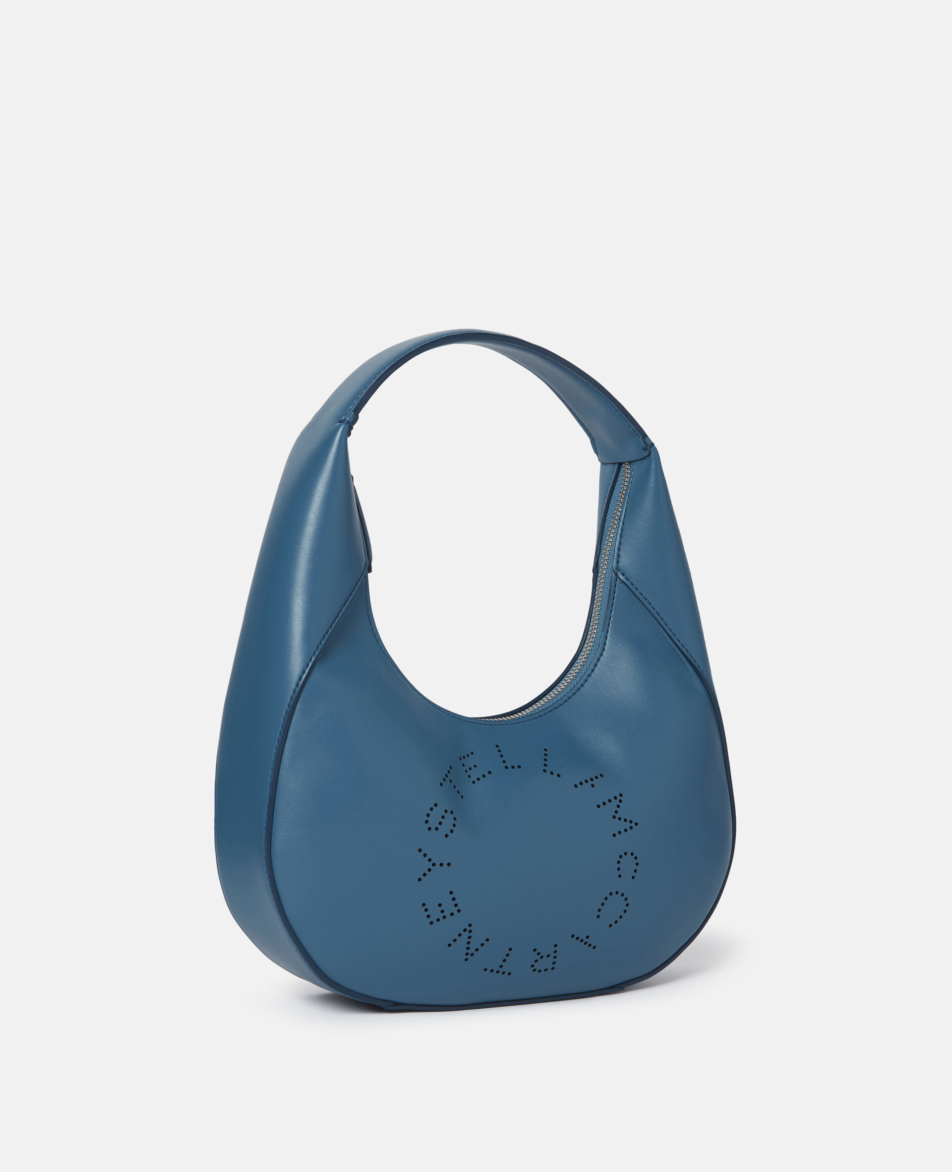 Small Stella Logo Shoulder Bag-Black-large image number 1