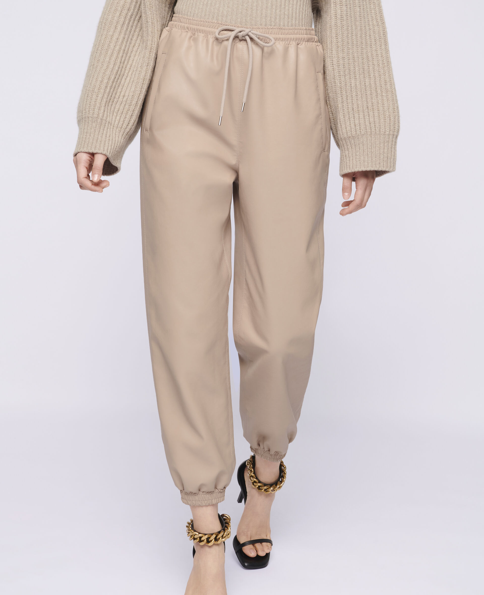Pantaloni Kira in Alter Mat-Rosa-large image number 3