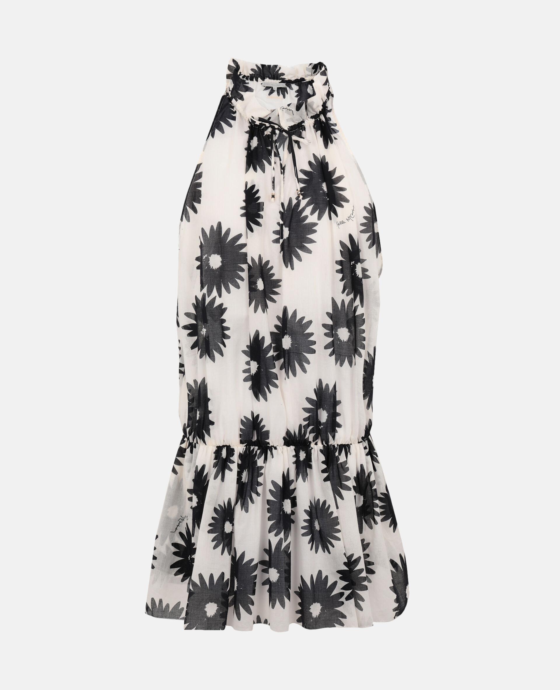 Linda Floral Print Short Dress-Multicolour-large image number 0
