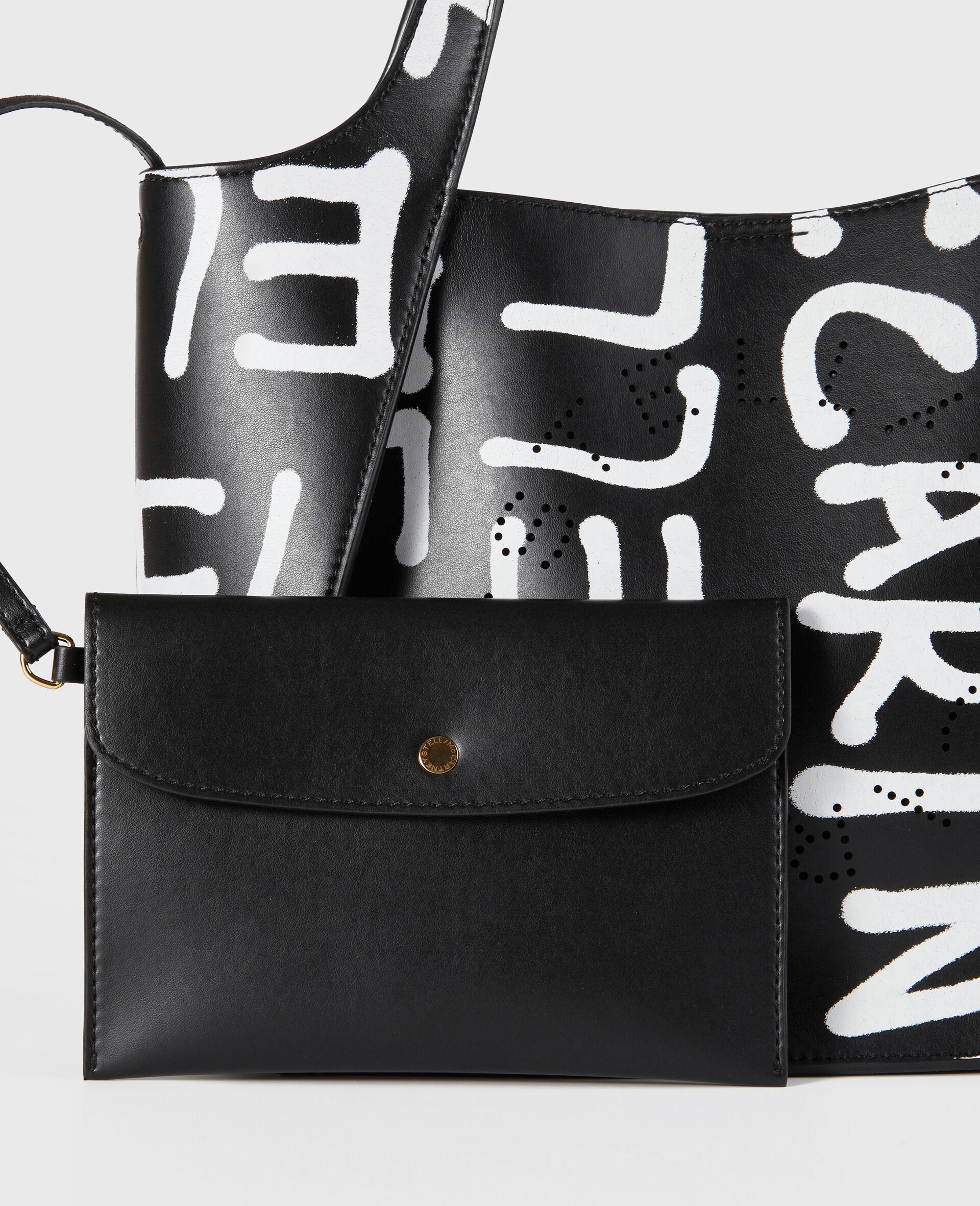 Ed Curtis Stella Logo Crossbody Bag-Black-large image number 3