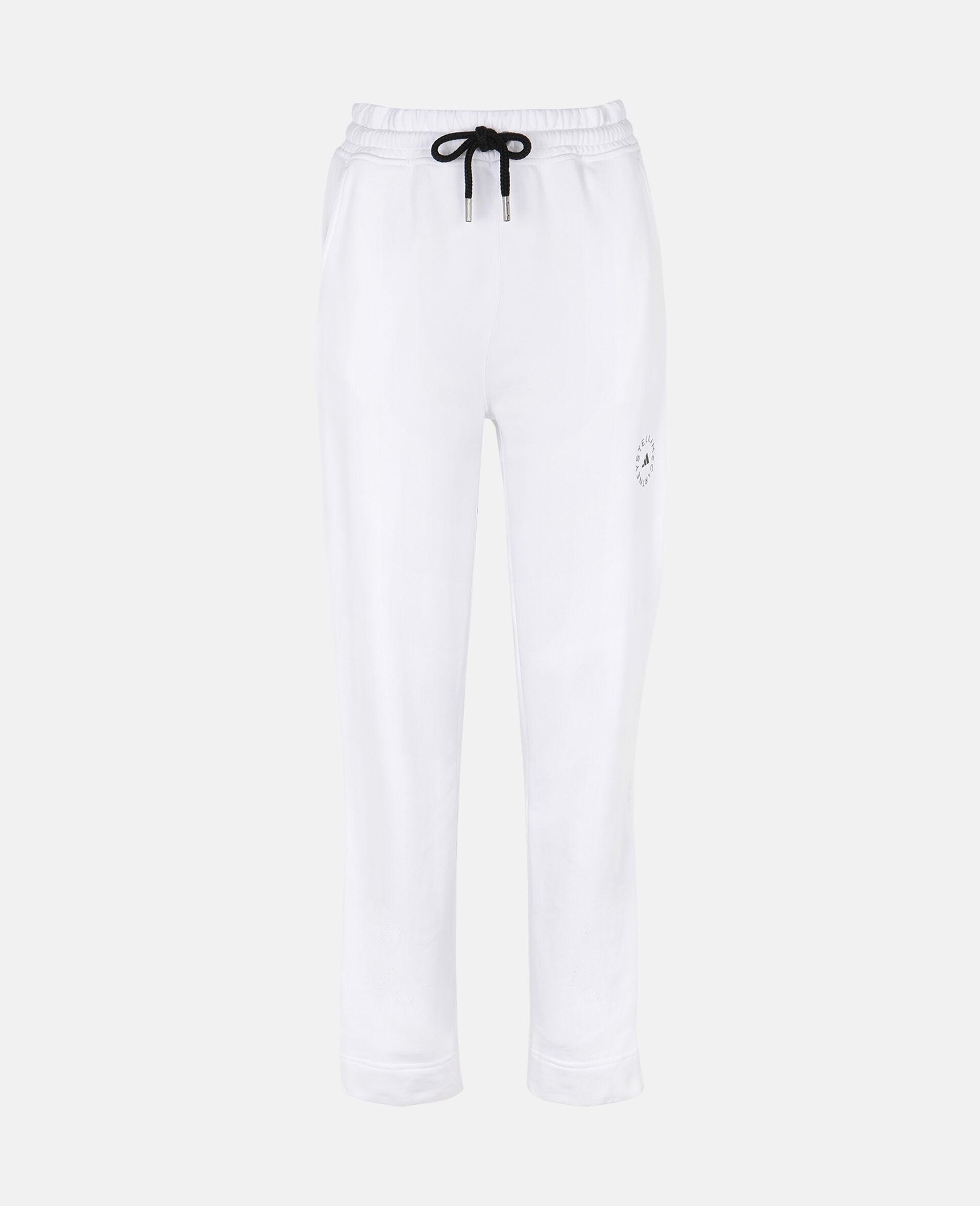 White Training Sweatpants -White-large image number 0