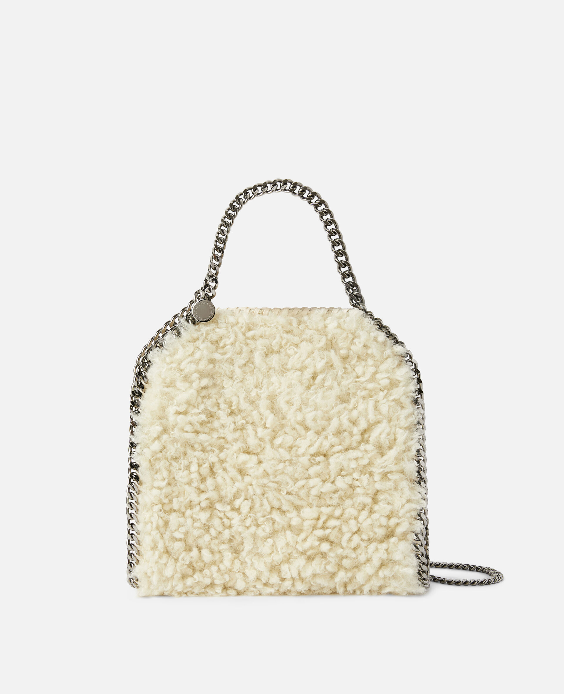 Falabella FFF Mini Tote-White-large image number 0
