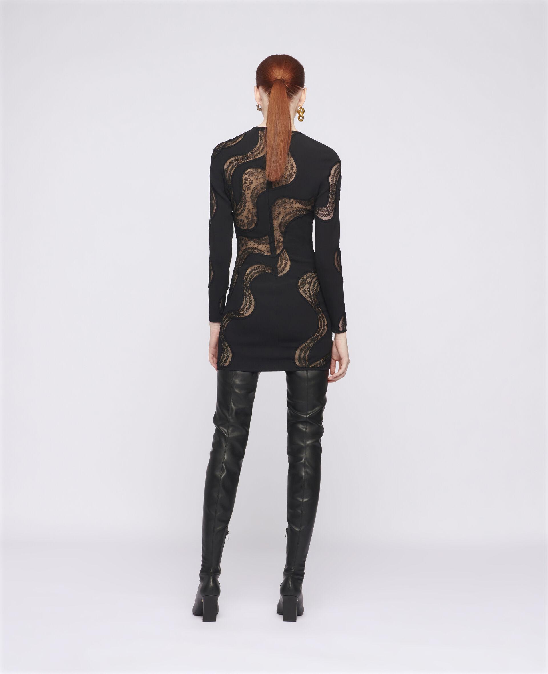 Makenzie Mini Dress-Black-large image number 2