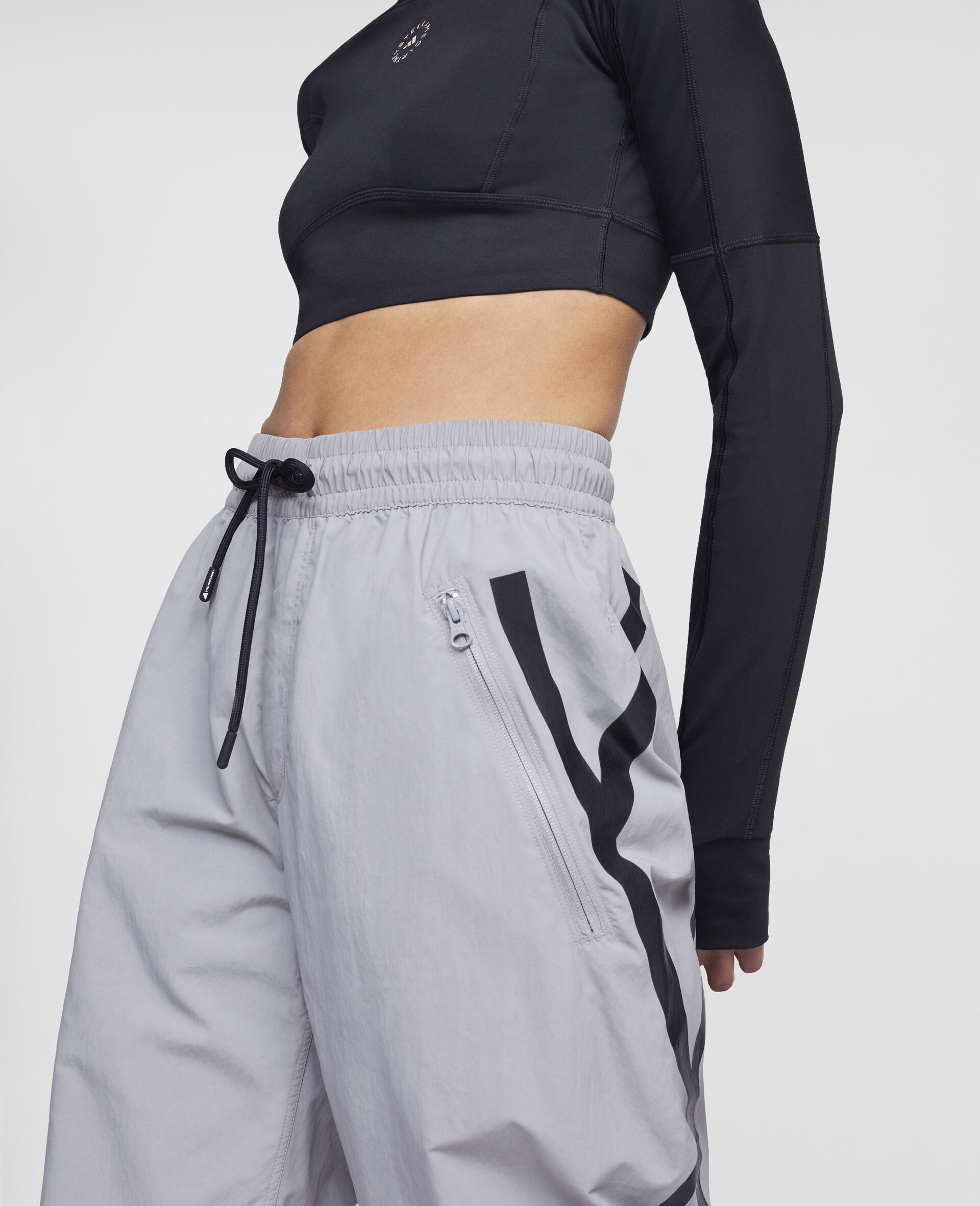 Grey Training Trousers-Grey-large image number 3