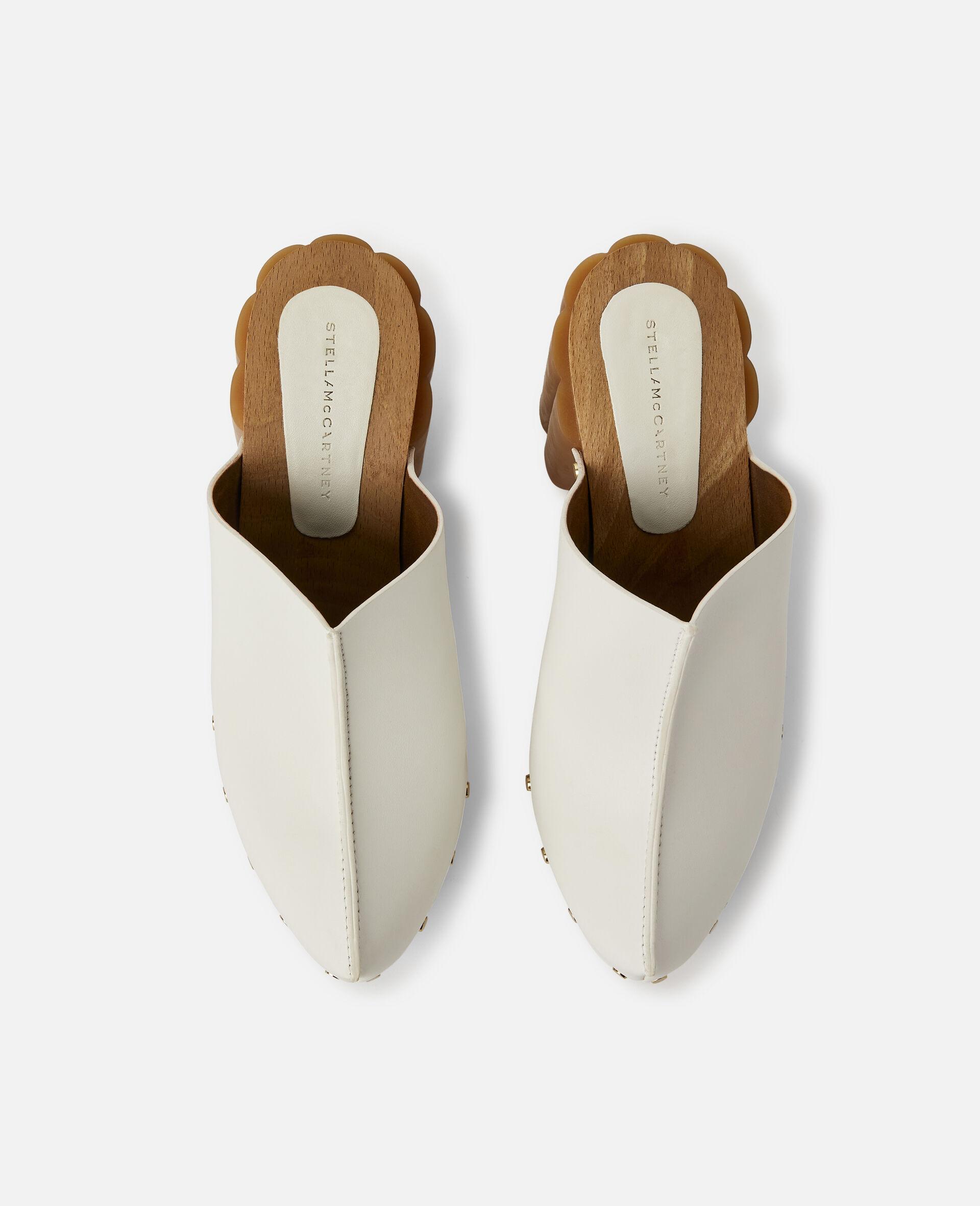Daisy Stud Hardware Sandals-White-large image number 3