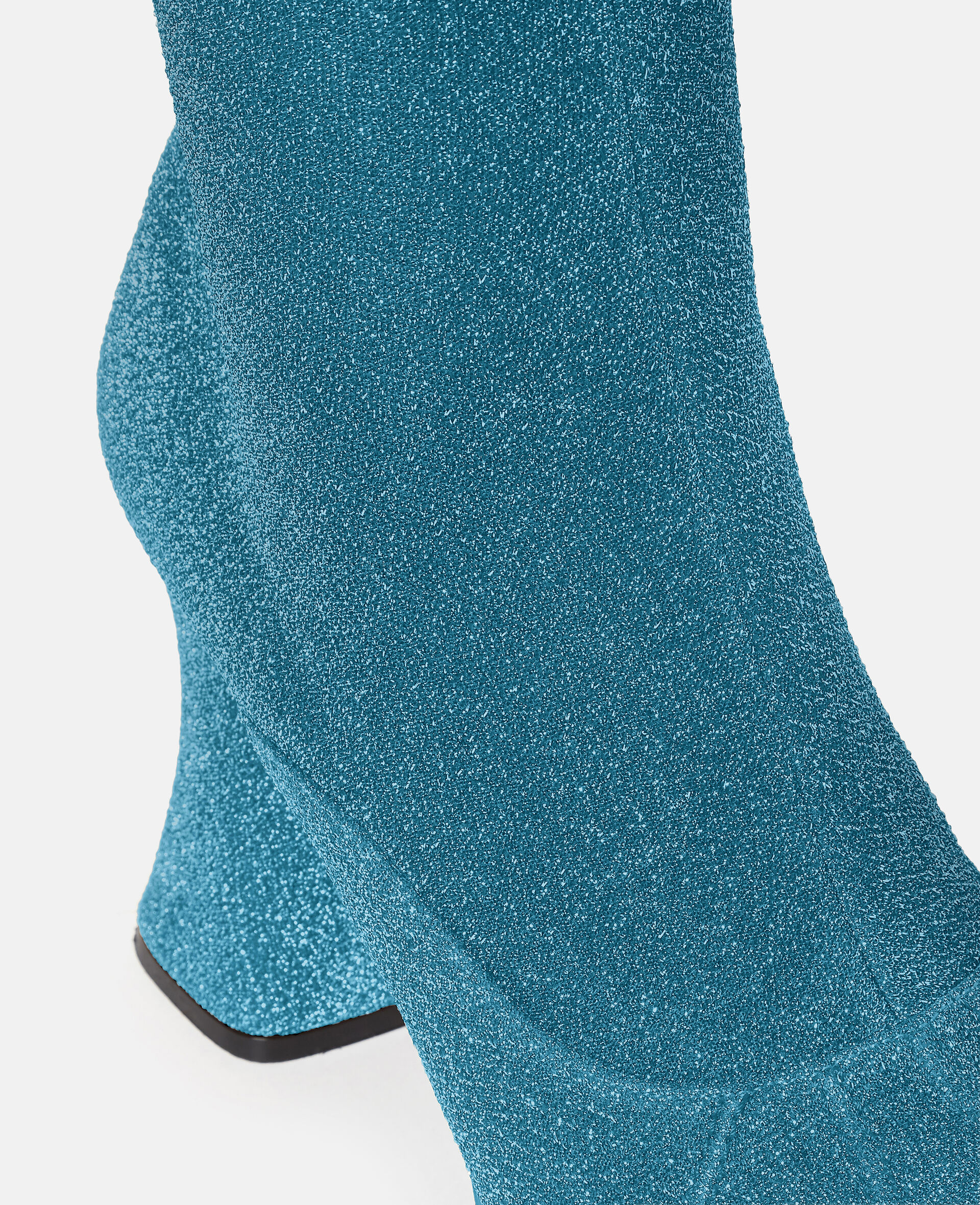 Over-The-Knee Duck City Glitter Boots -Blue-large image number 3