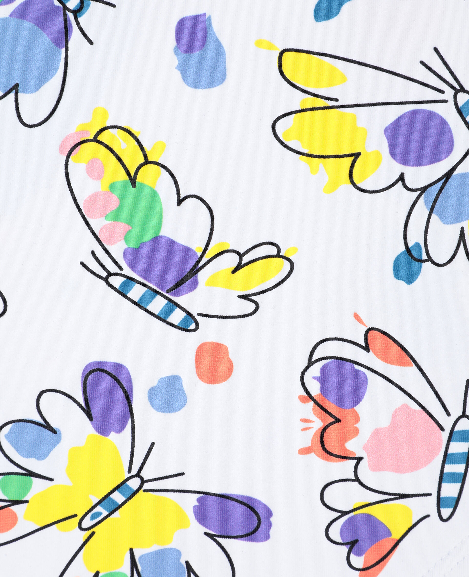 Schmetterling-Badeanzug für Babys-Bunt-large image number 1