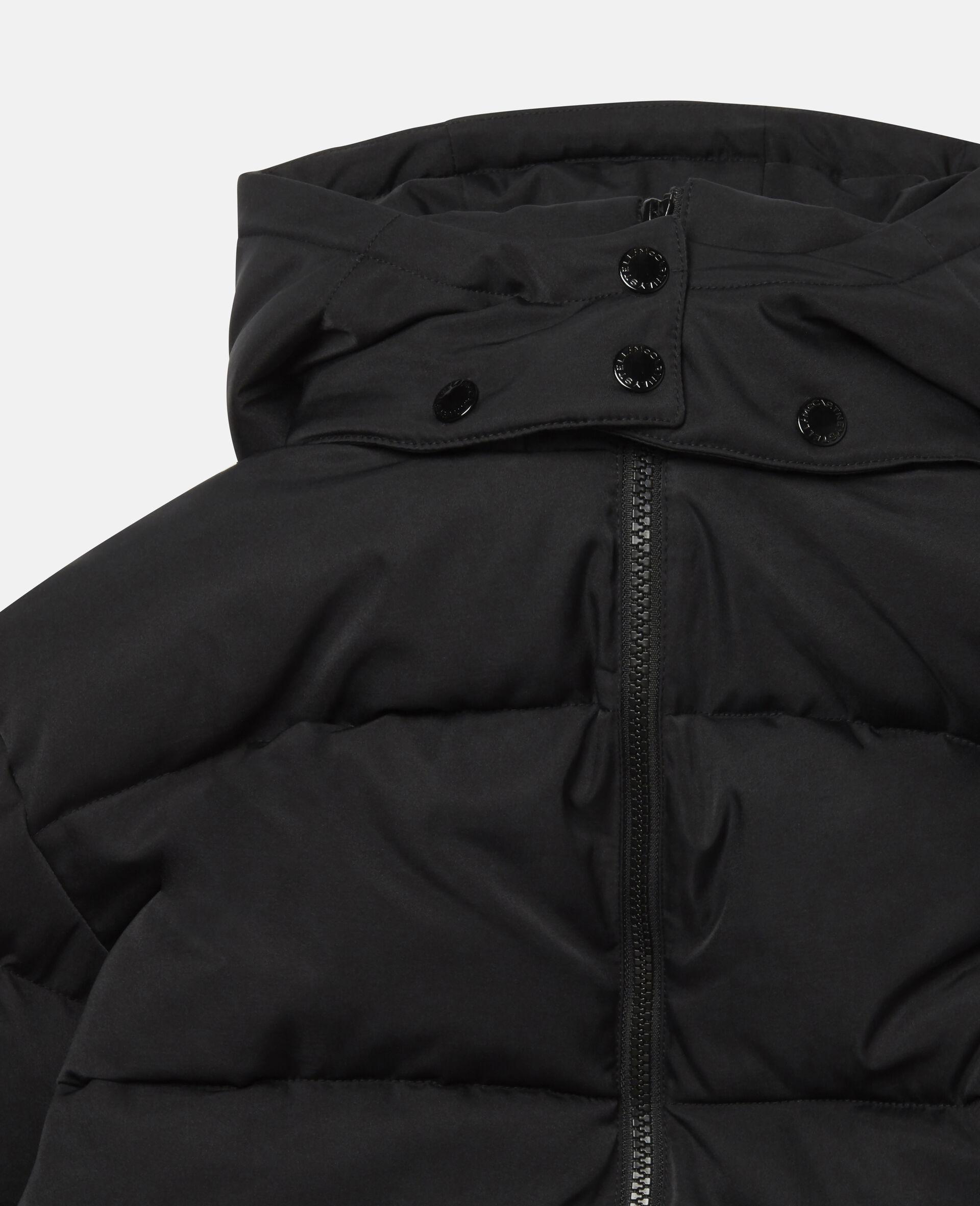 Oversized Logo Puffer Jacket-Multicolour-large image number 1