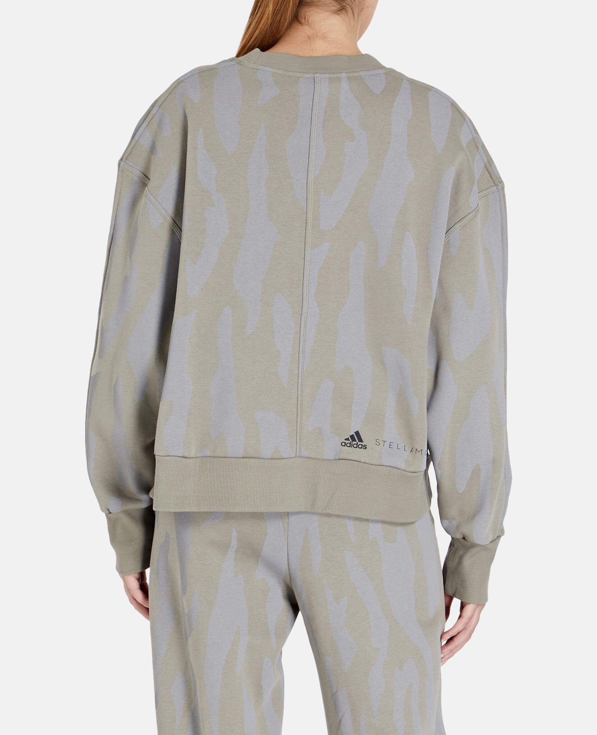 Grey Training Sweatshirt -Grey-large image number 2