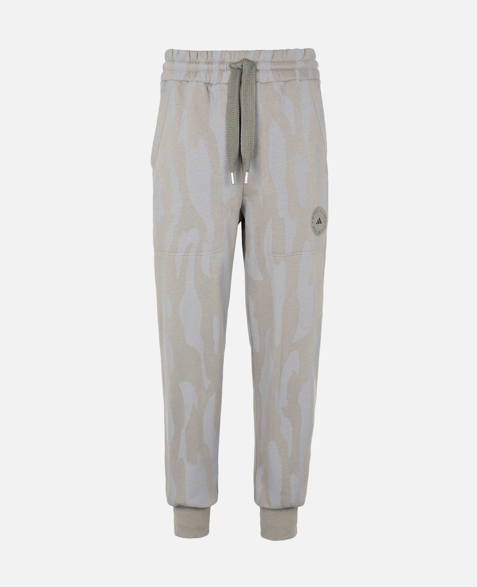 Gray Training Sweatpants-Grey-large image number 0