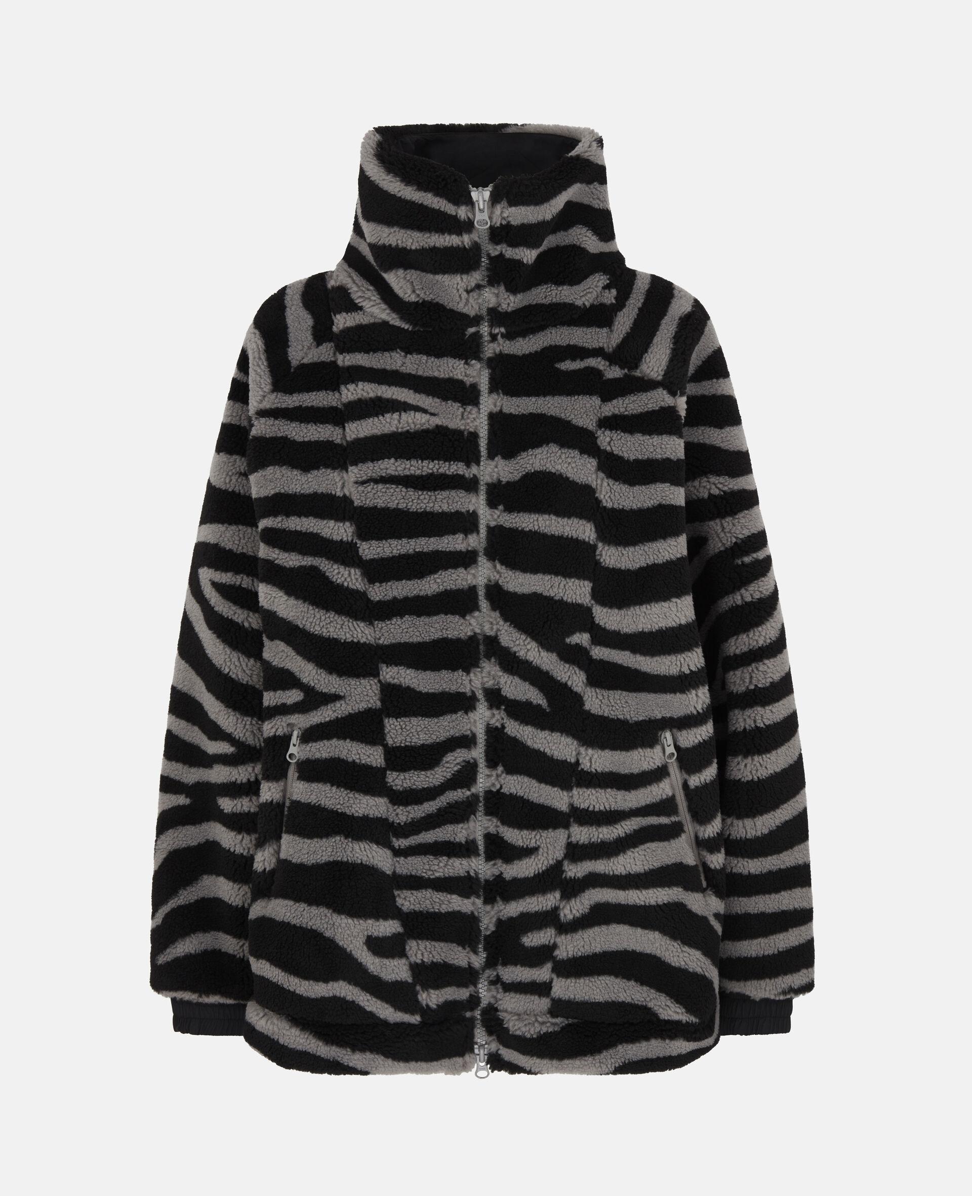 Fleece Hooded Training Jacket-Multicolour-large image number 0