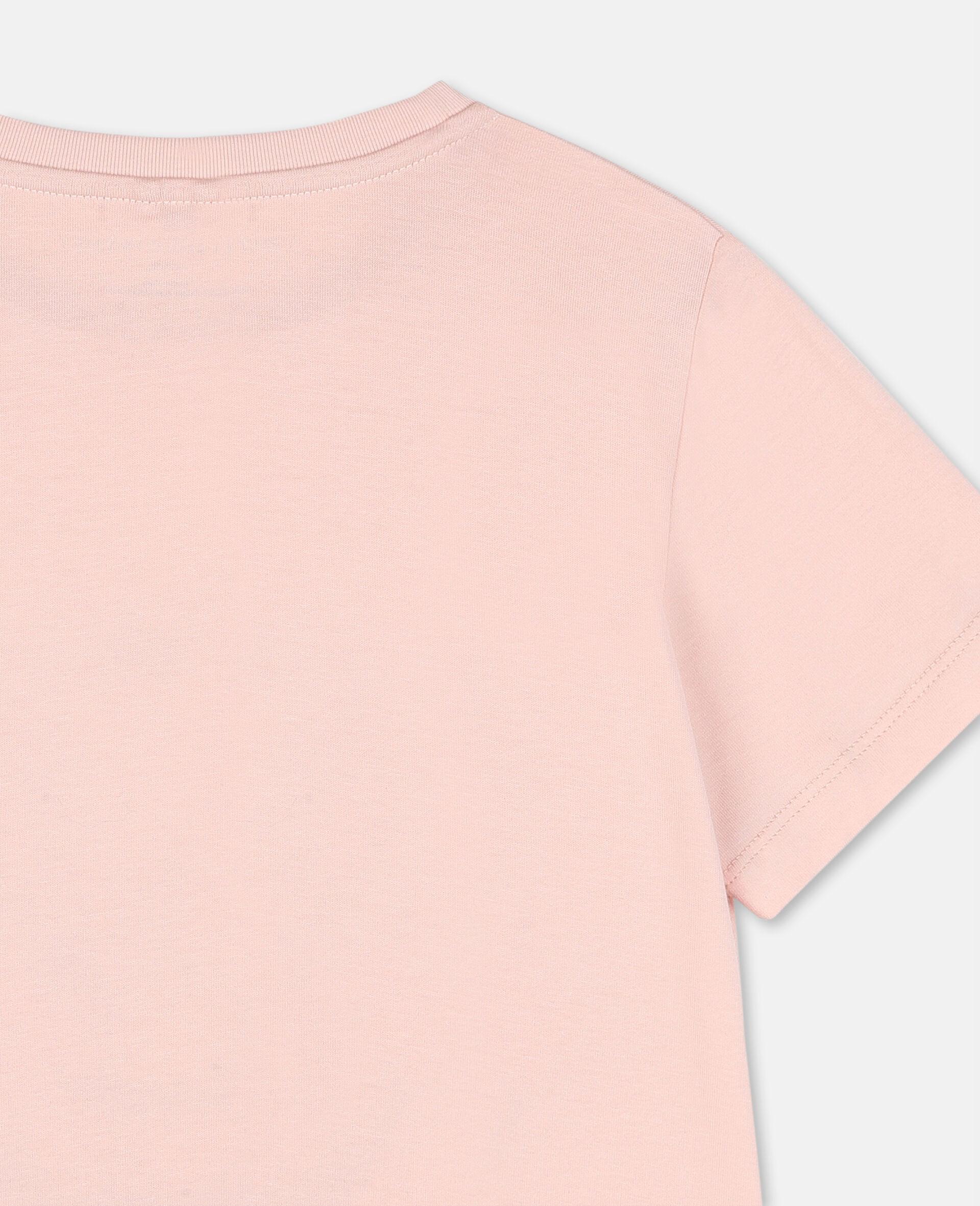 Dancing Flamingo棉质T恤-粉色-large image number 2