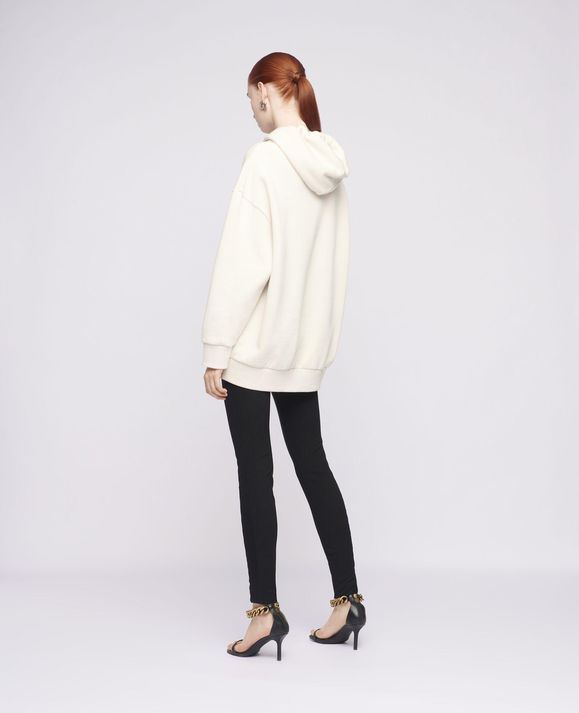 Sweat-shirt à capuche à logo Stella McCartney2021-Blanc-large image number 2