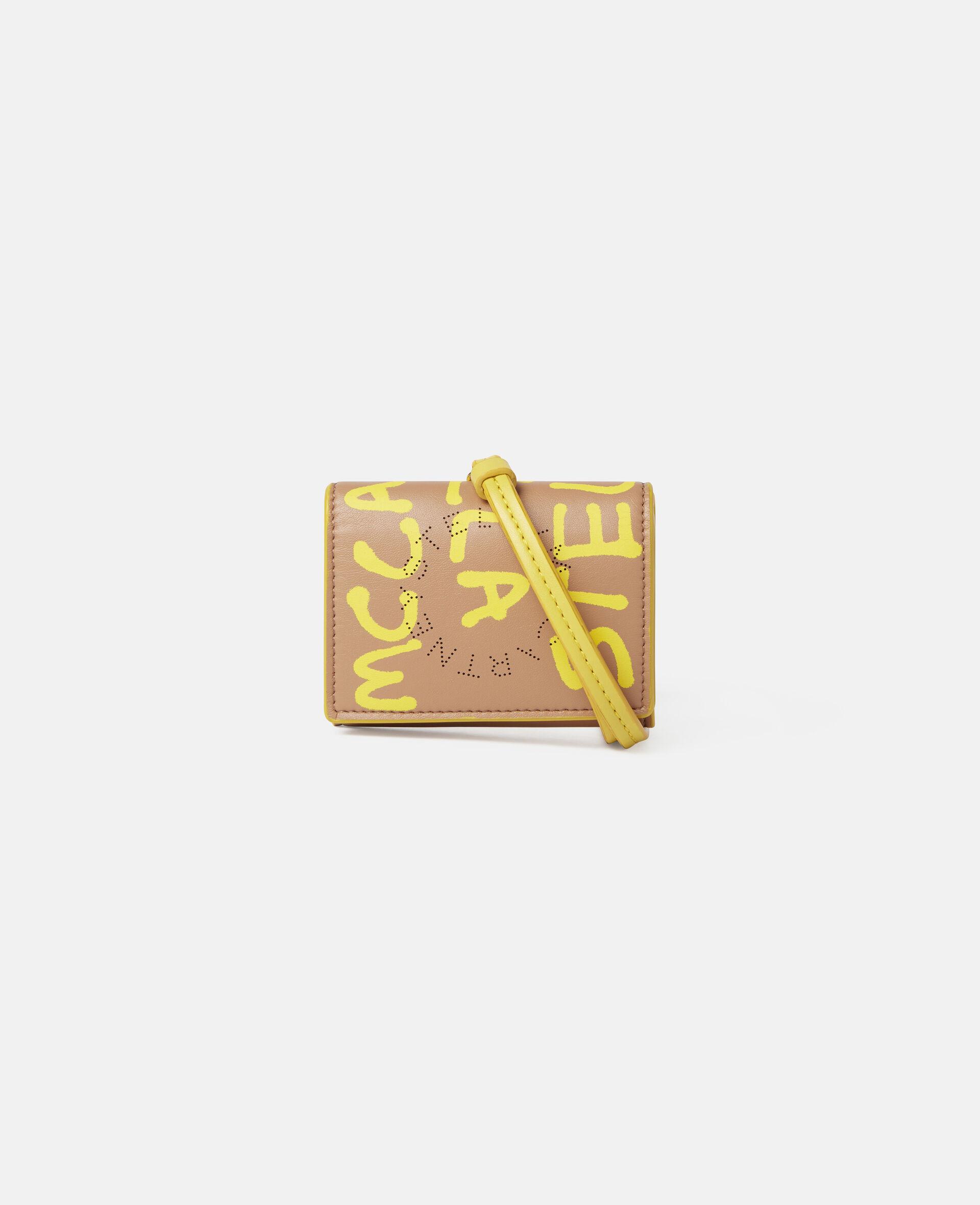 Ed Curtis Stella Logo Cardholder-Beige-large image number 0