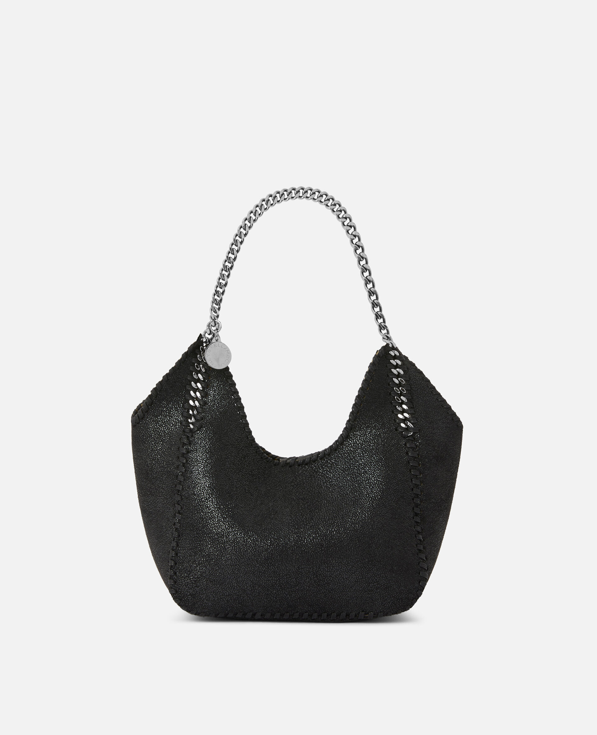 Mini Falabella Tote Bag -Black-large image number 0