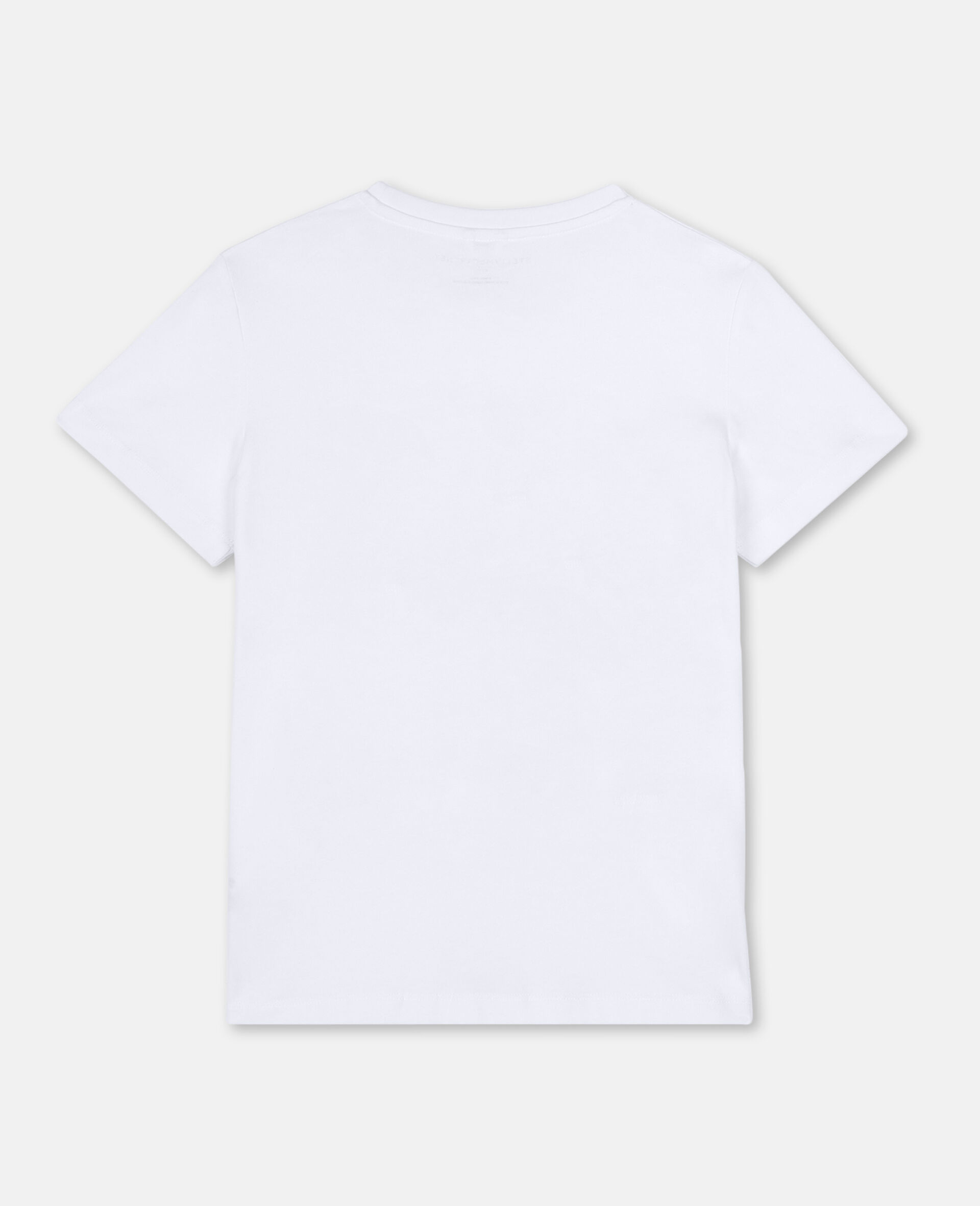 3D Binocular Cotton T-shirt -White-large image number 3