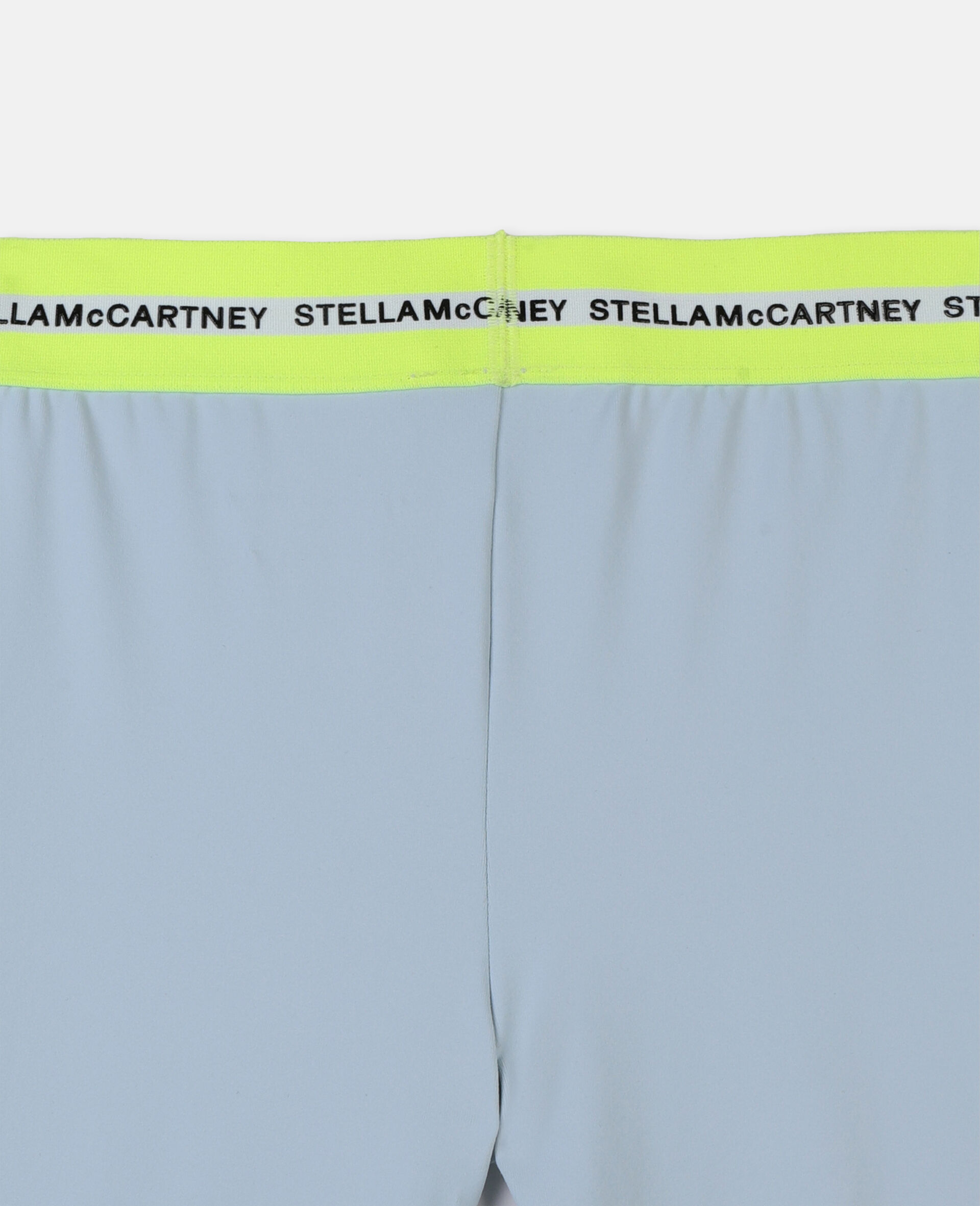 Heavy Jersey Active Leggings -Blue-large image number 2