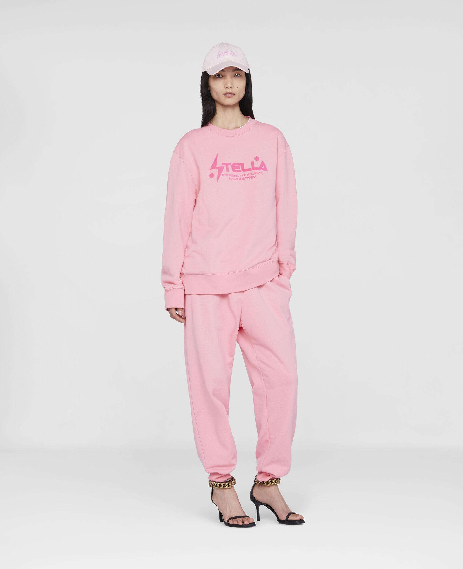 Tom Tosseyn Stella Logo Sweatshirt-Pink-large image number 1