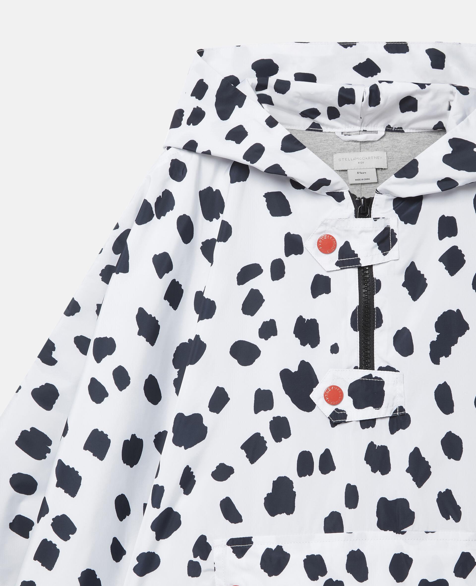 Cape à taches dalmatien-Blanc-large image number 2