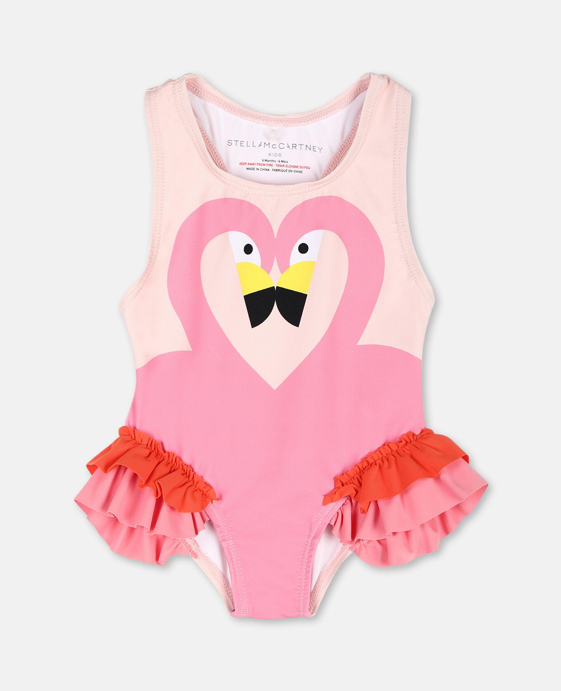 Flamingo Swimsuit -Pink-large image number 0