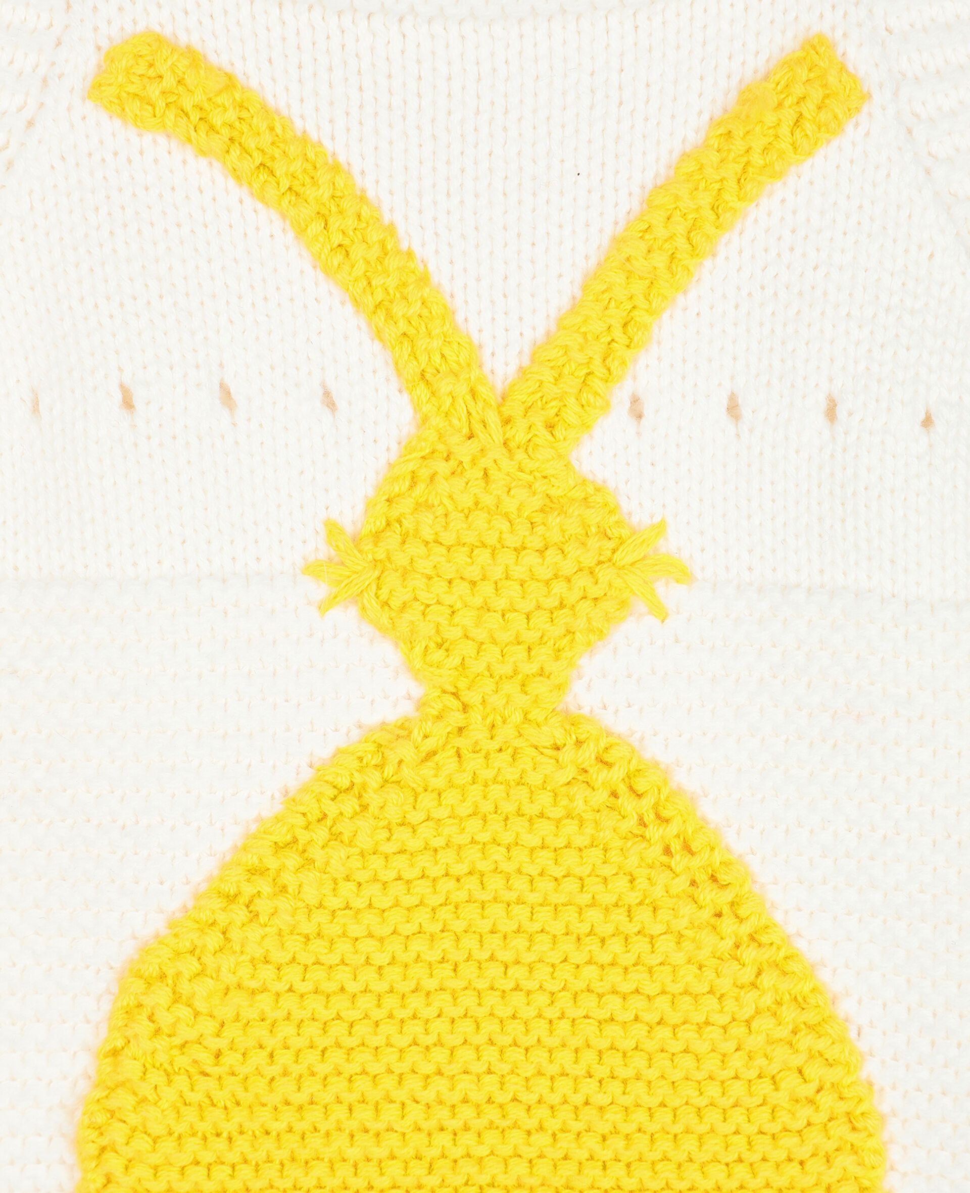 Bunny Knit Body-White-large image number 2