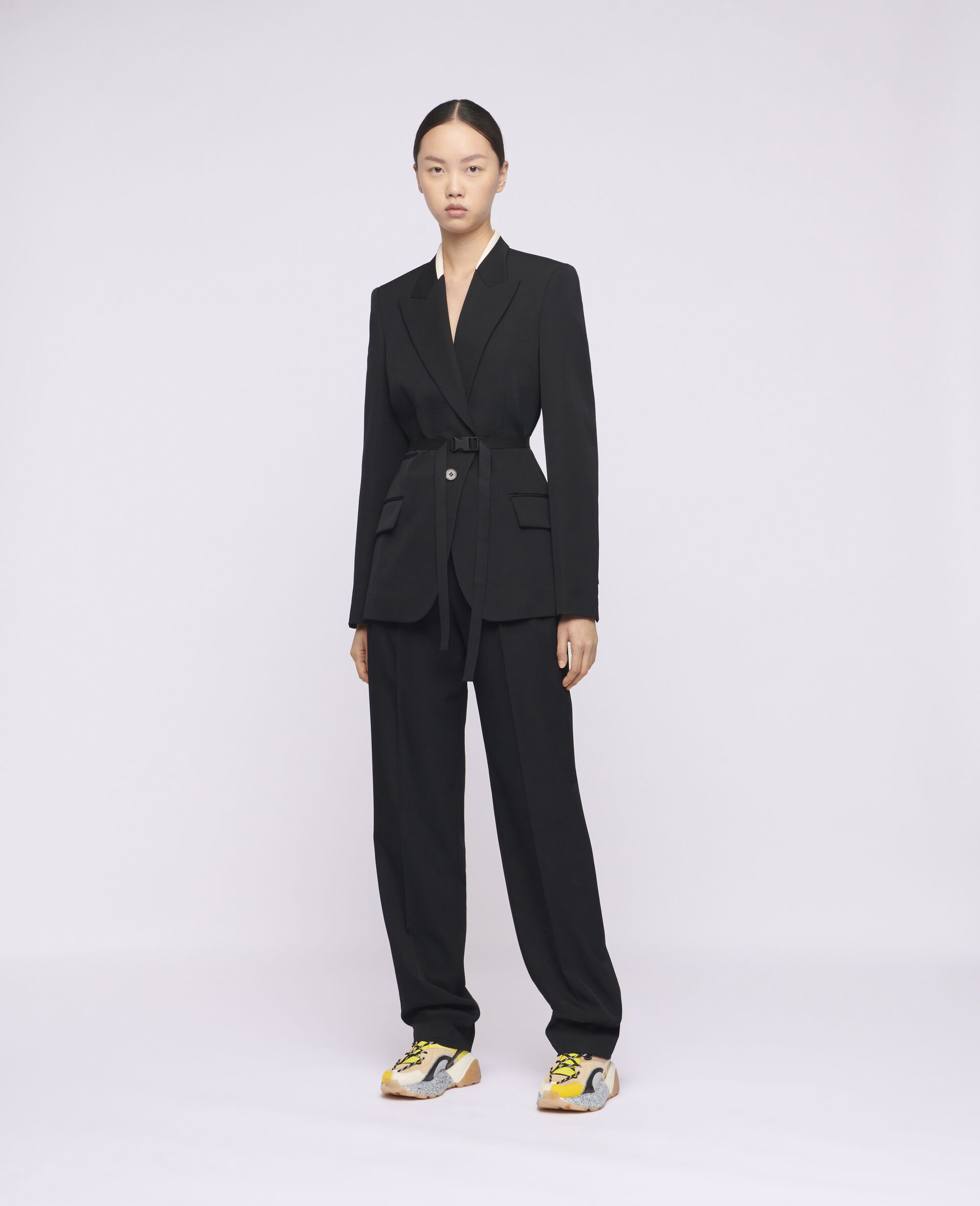 Bella Tailored Jacket-Black-large image number 1