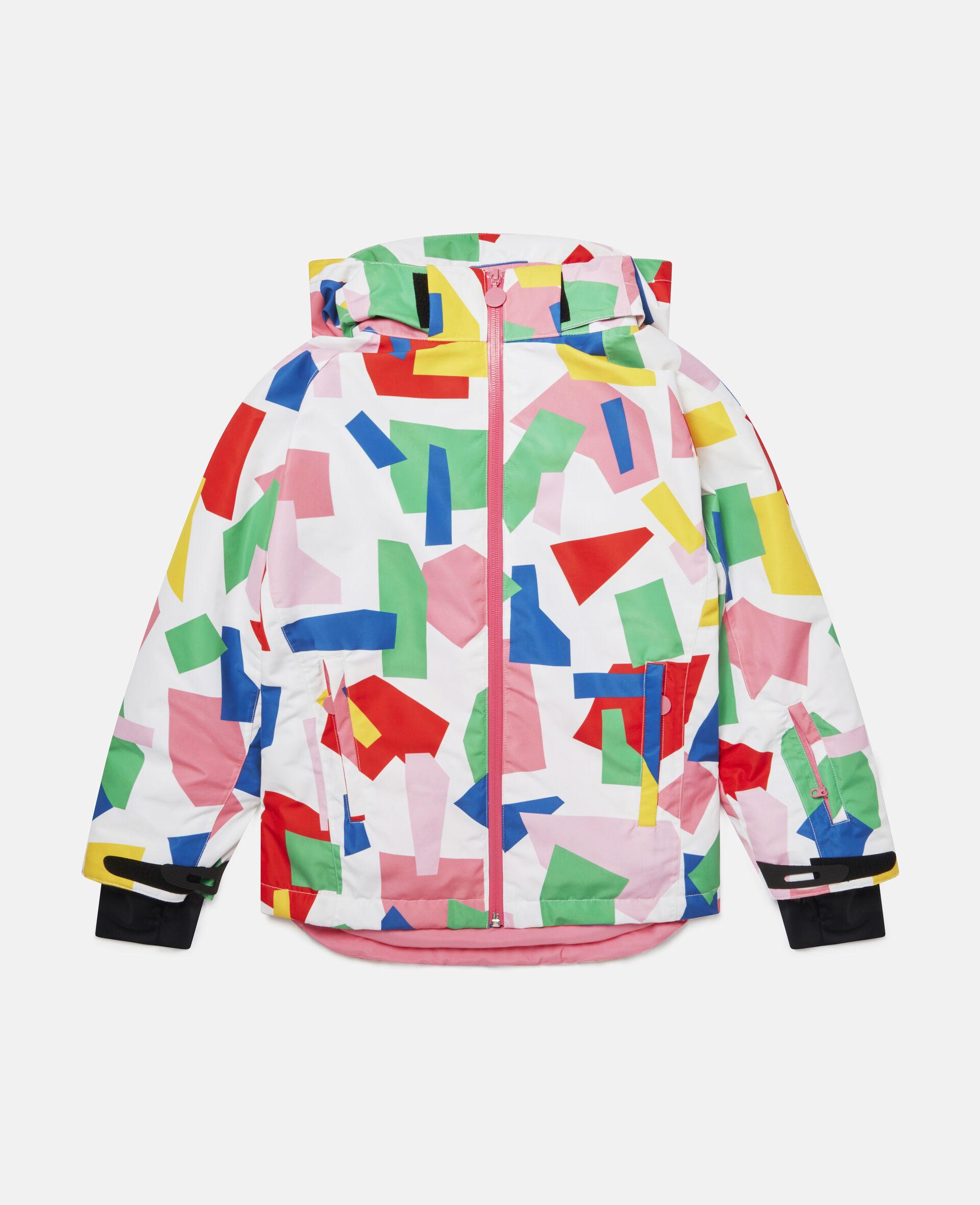 Colorblock Ski Jacket-Multicolour-large image number 0