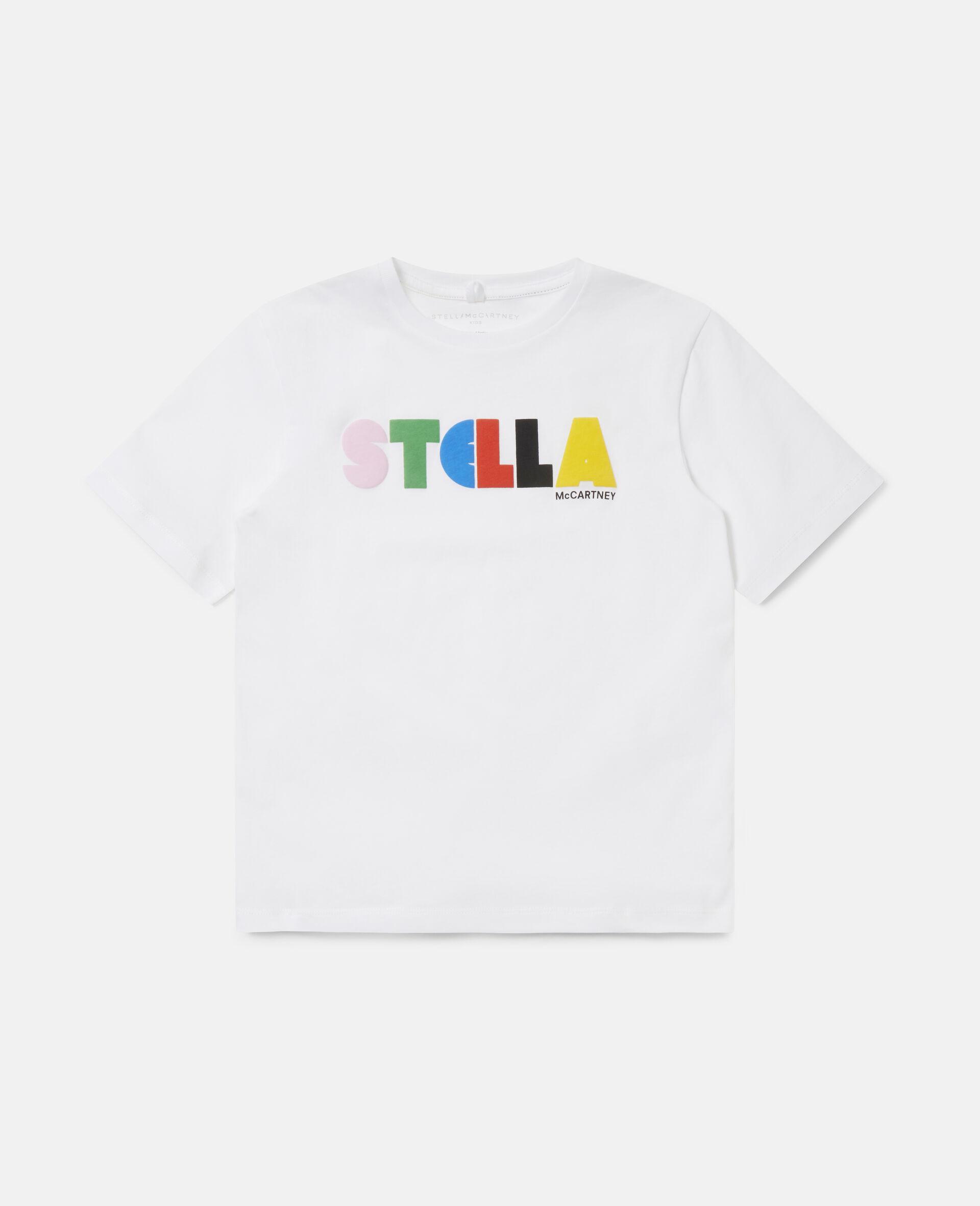 T-shirt oversize en coton Stella -Noir-large image number 0